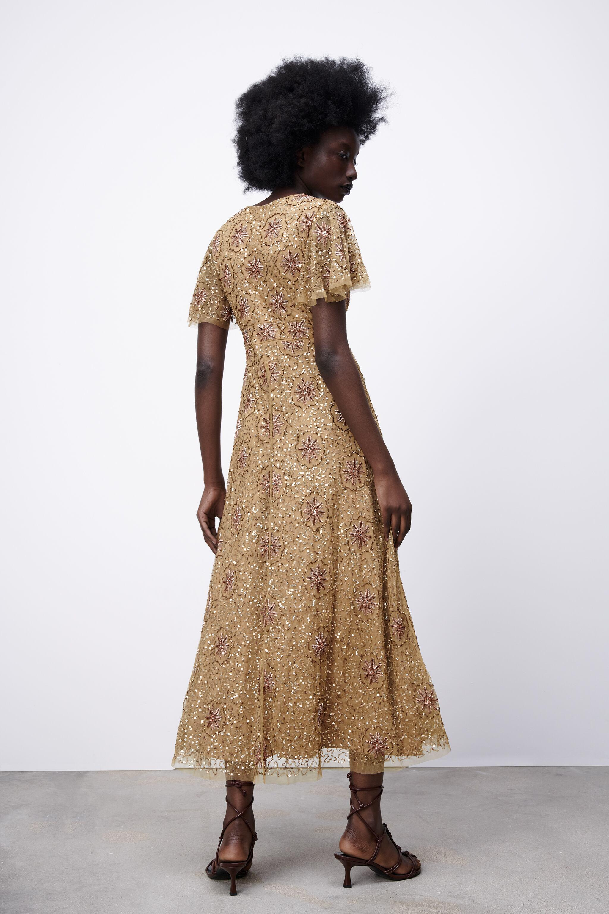 BEADED SPECIAL EDITION KNIT DRESS 5