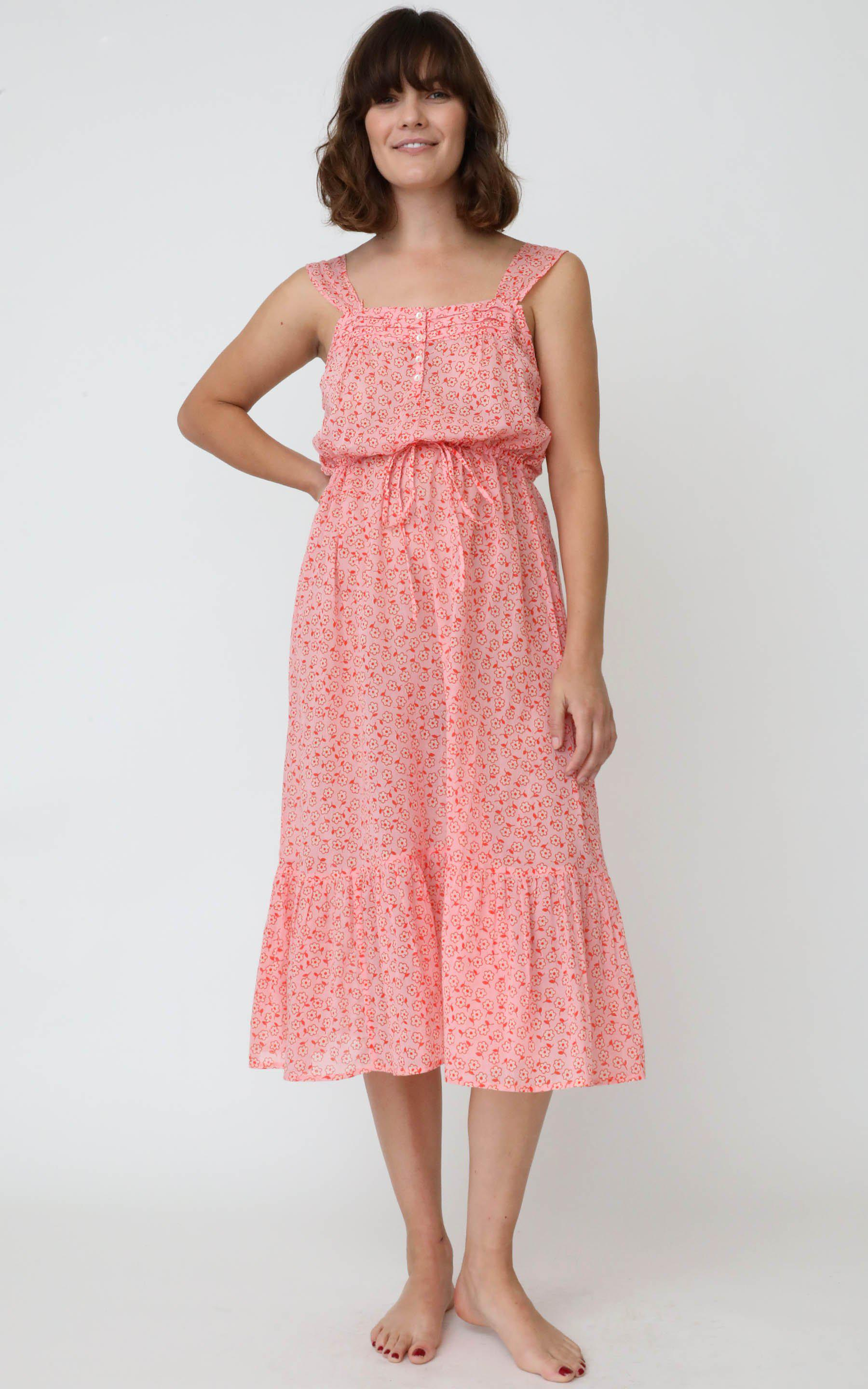 Rosalind Gown Scattered Daisy Orchid Pink