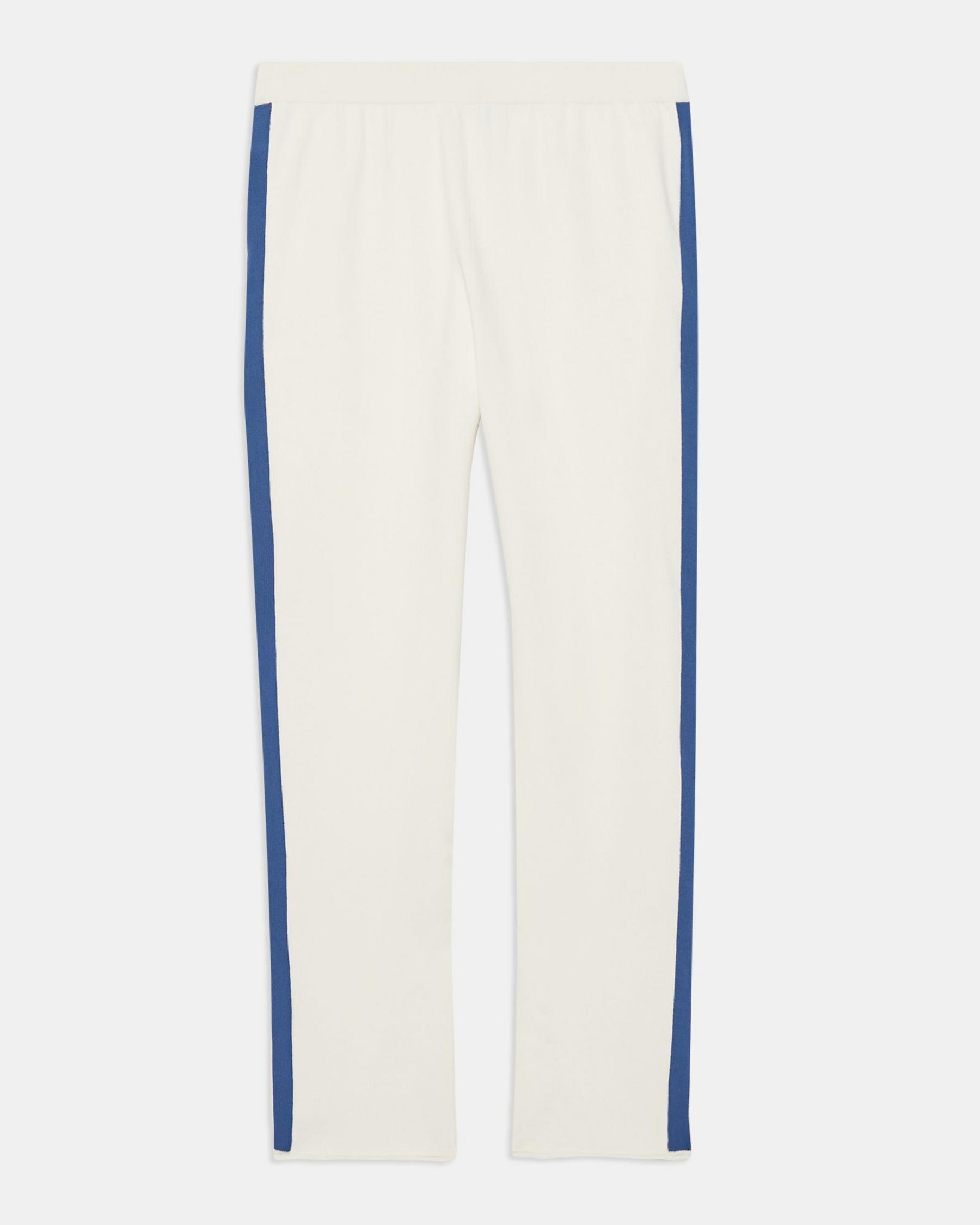 Side Stripe Pull-On Pant in Crepe Knit 5