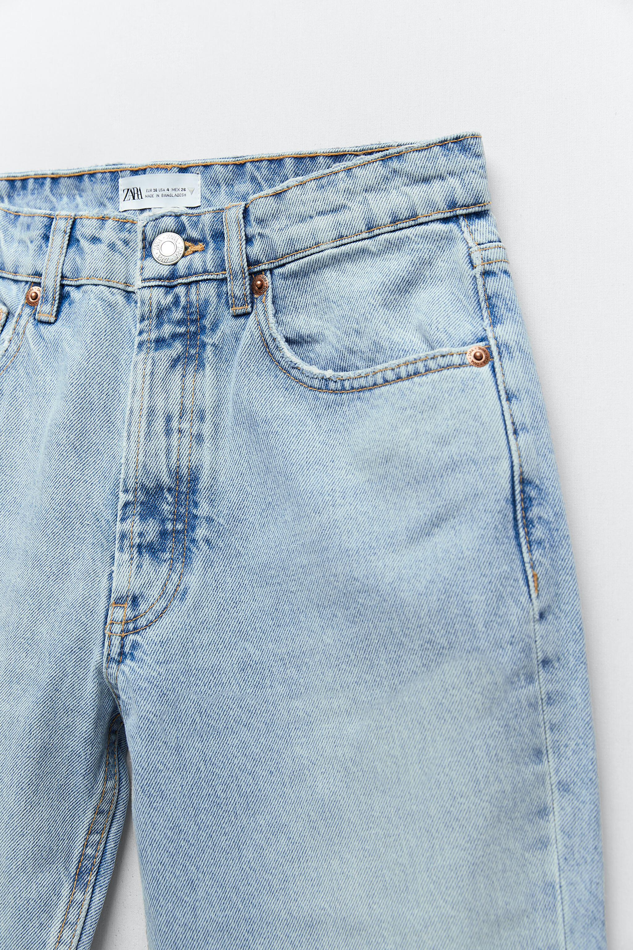 MID-RISE STRAIGHT LEG ANKLE LENGTH JEANS 7