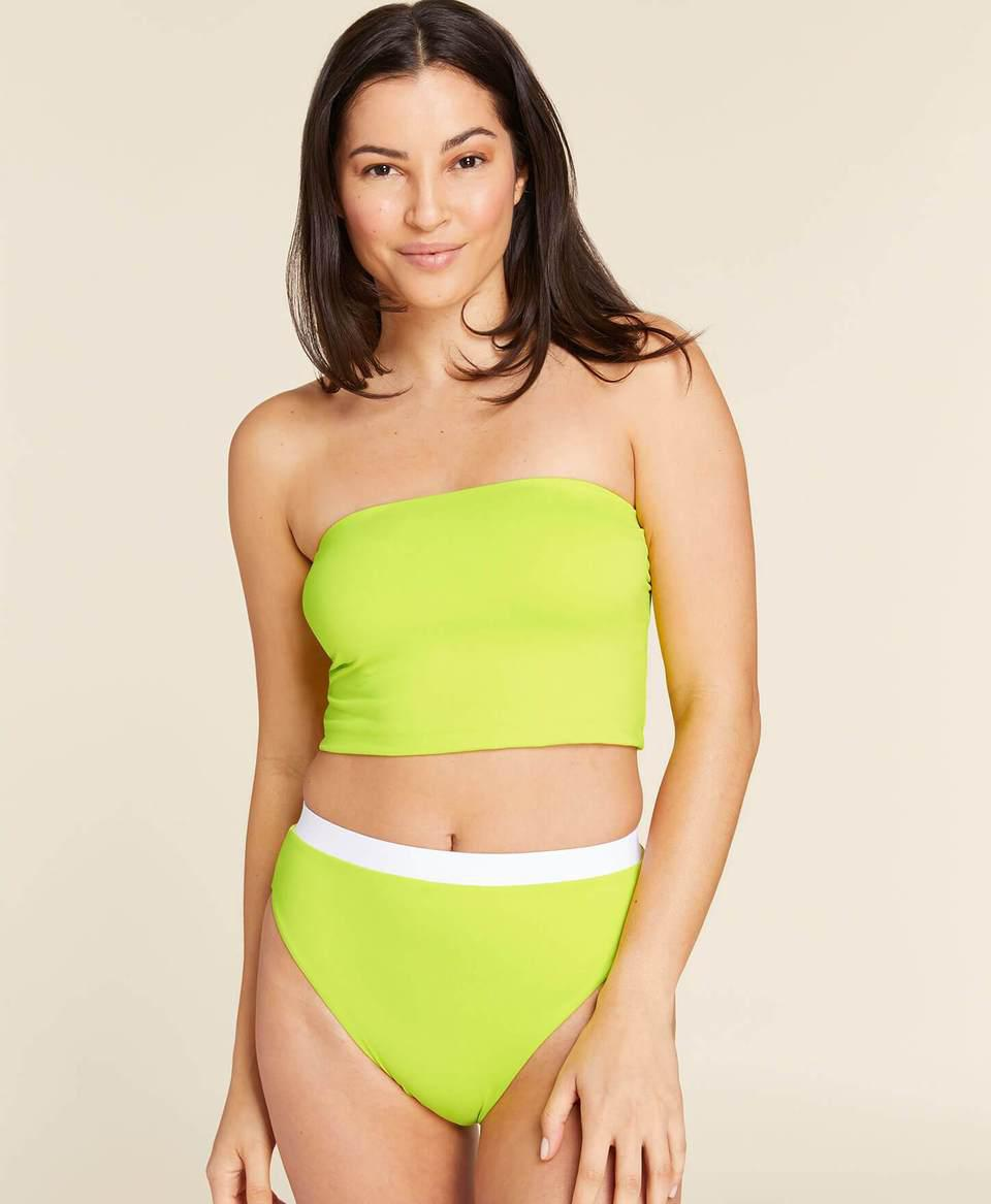 The Banded High Waisted Bottom—Flat