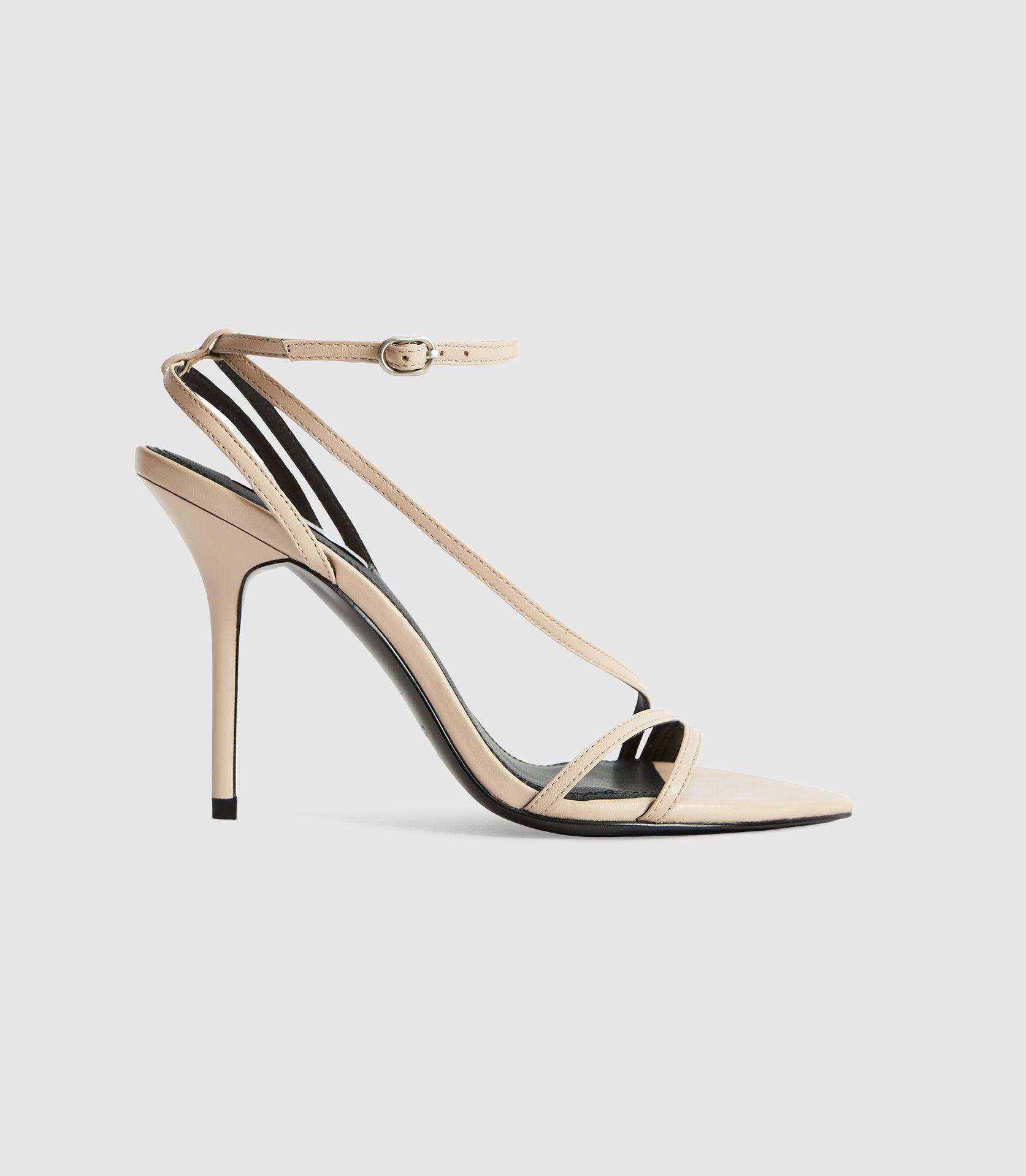 ADELA - LEATHER STRAPPY SANDALS