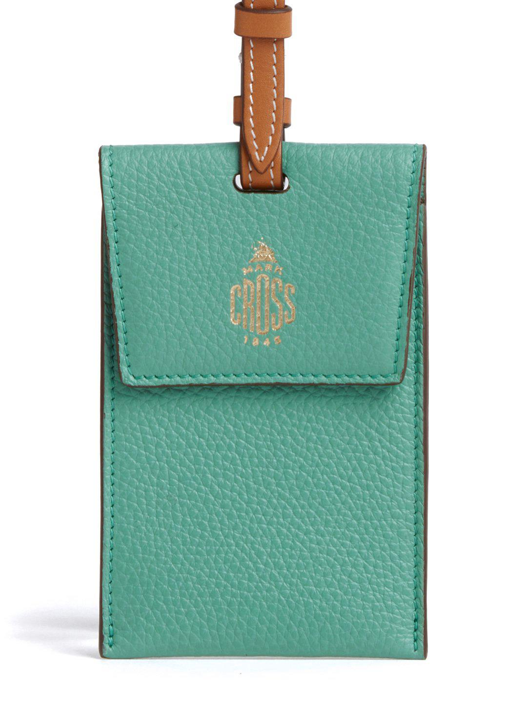 Leather Luggage Tag 3