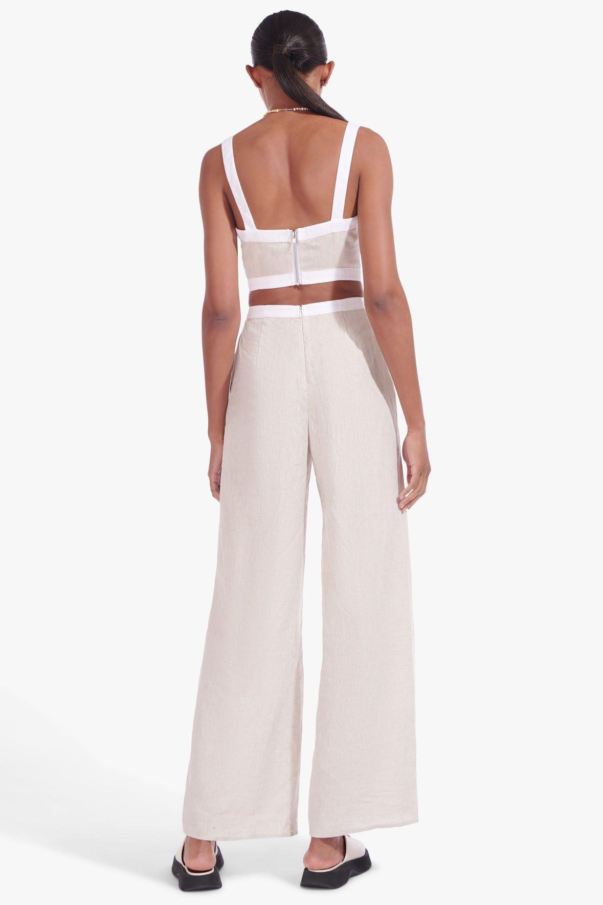 SHELLY JUMPSUIT | NATURAL WHITE 4