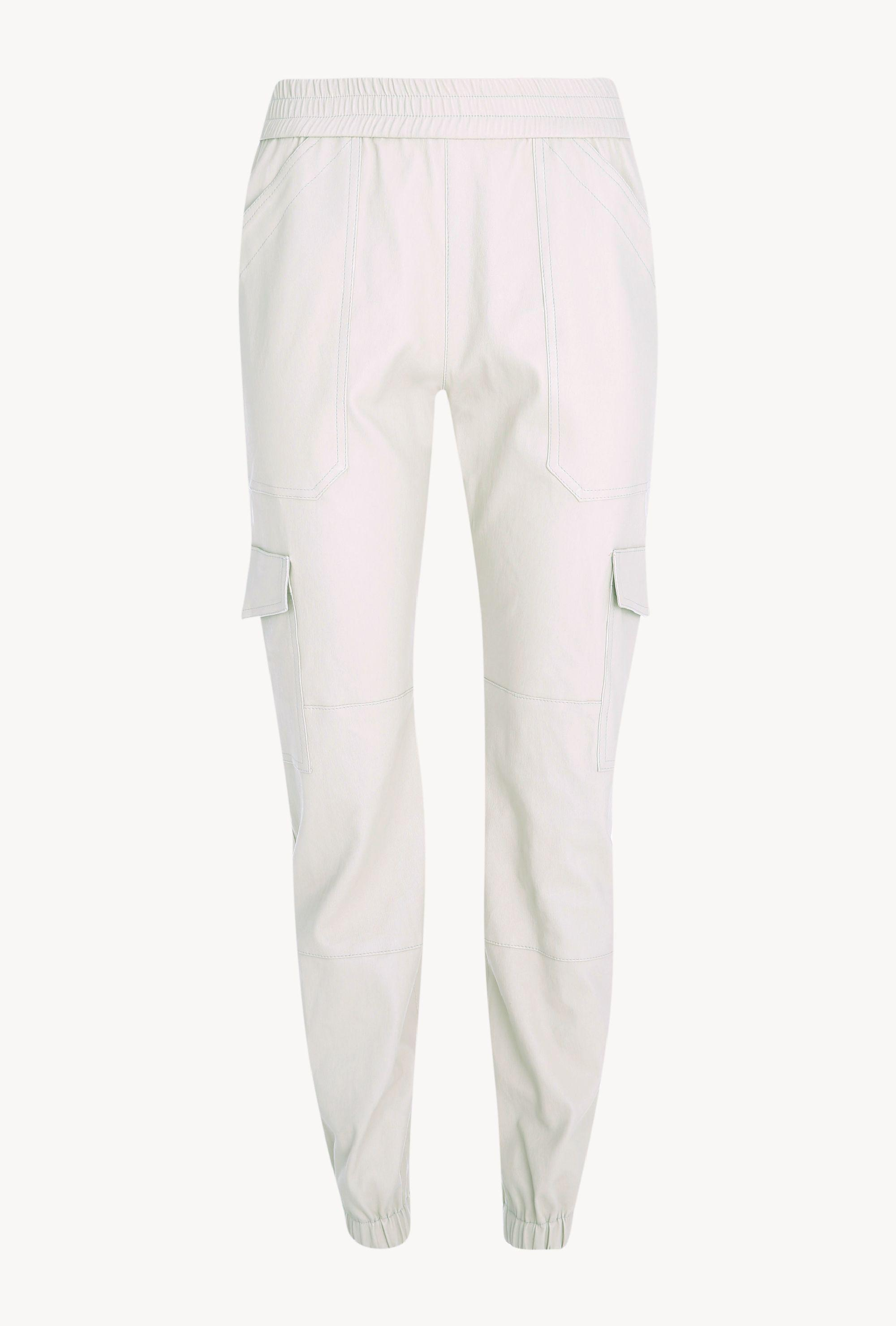 Off White Leather Cargo Jogger 3