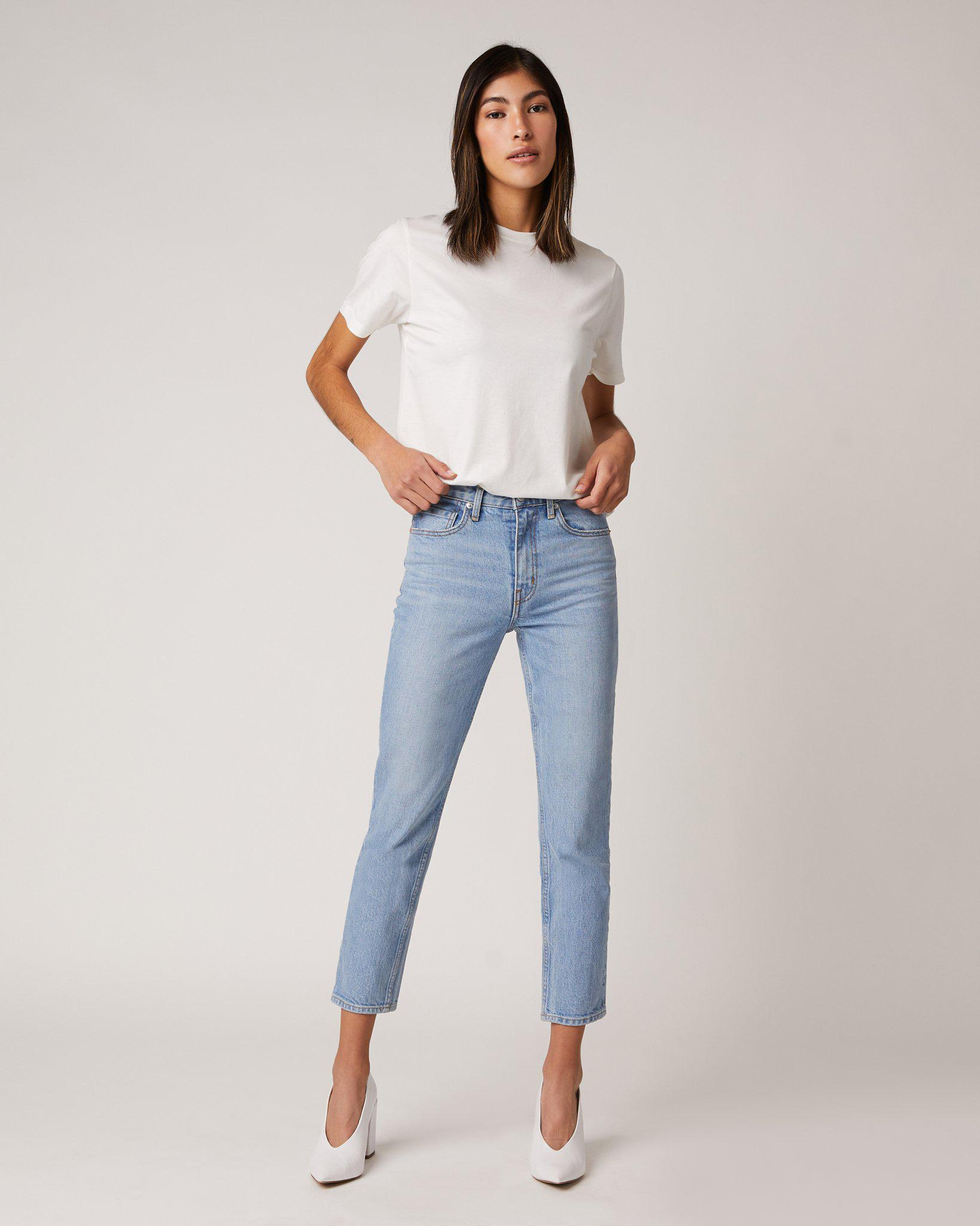 ABSLT Vintage Straight Jeans in Diffusion