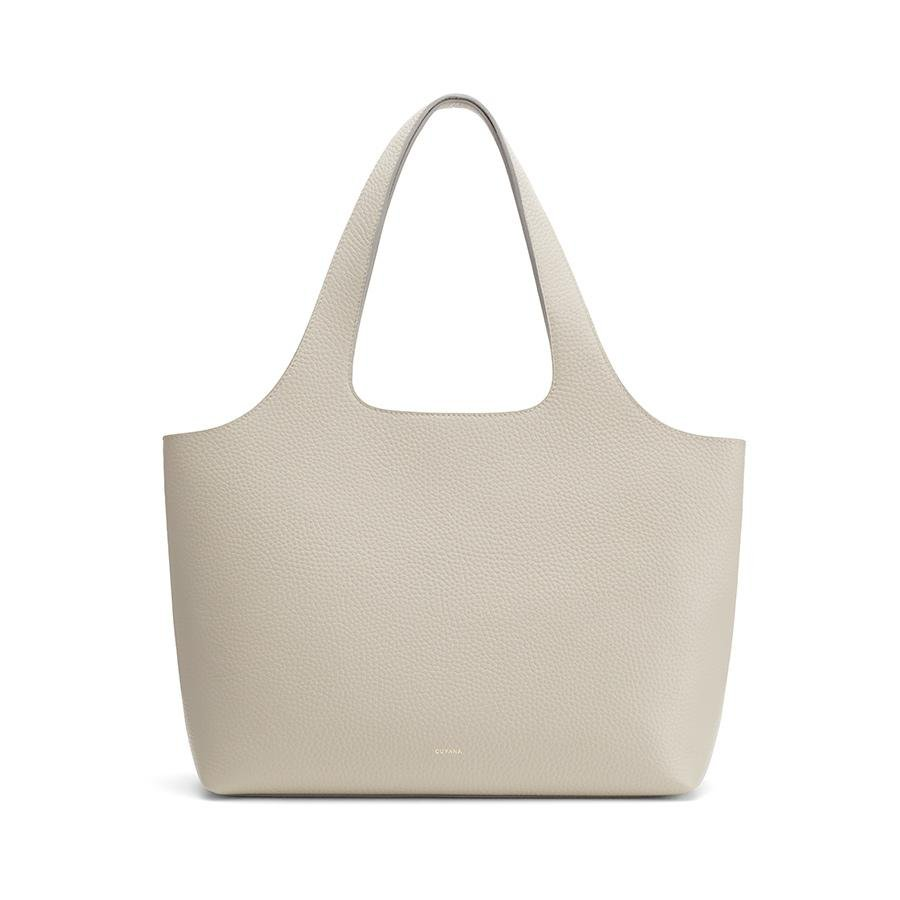 Women's System Tote Bag in Light Stone | Size: