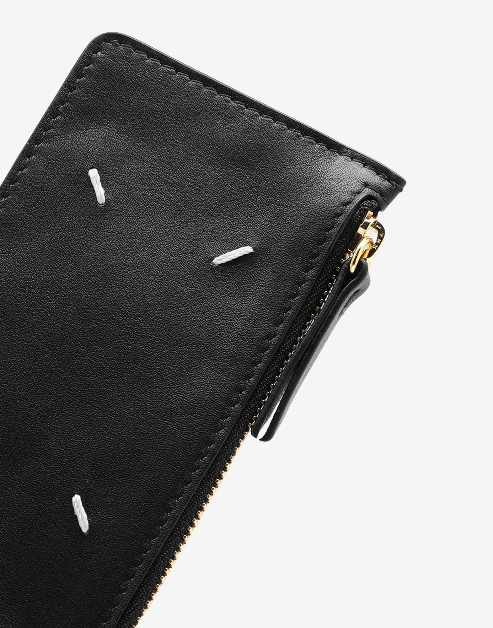 Card-holder calf leather wallet 3