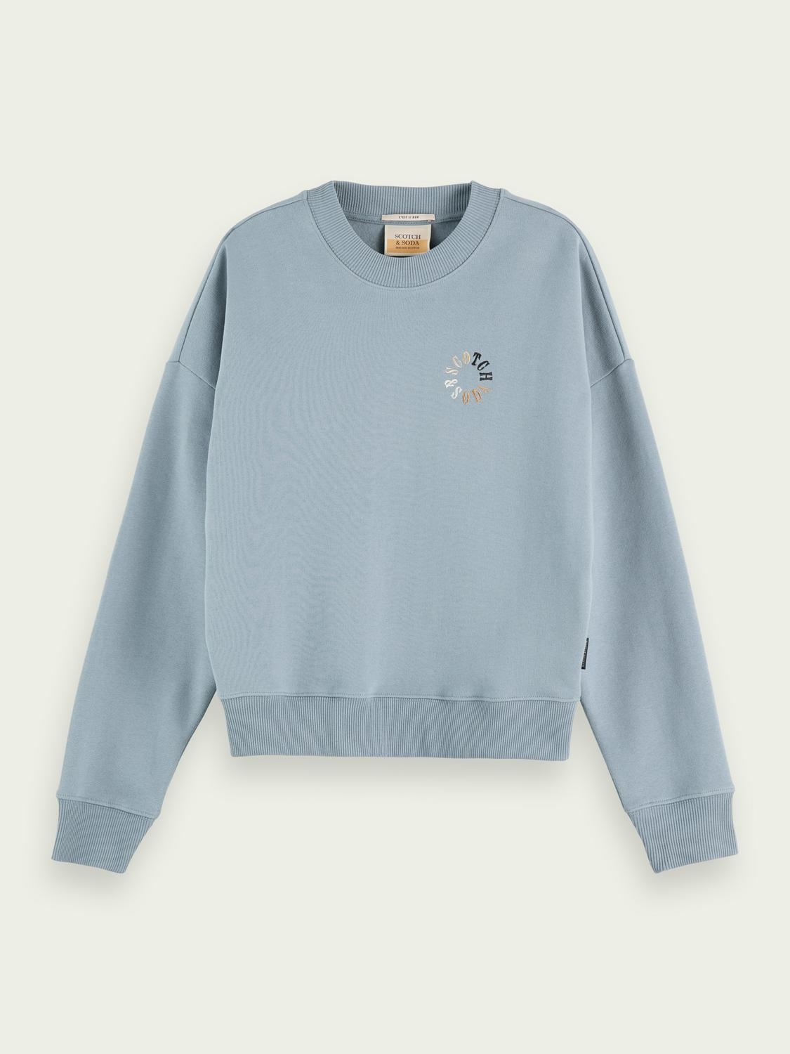 Relaxed-fit organic cotton sweater 3
