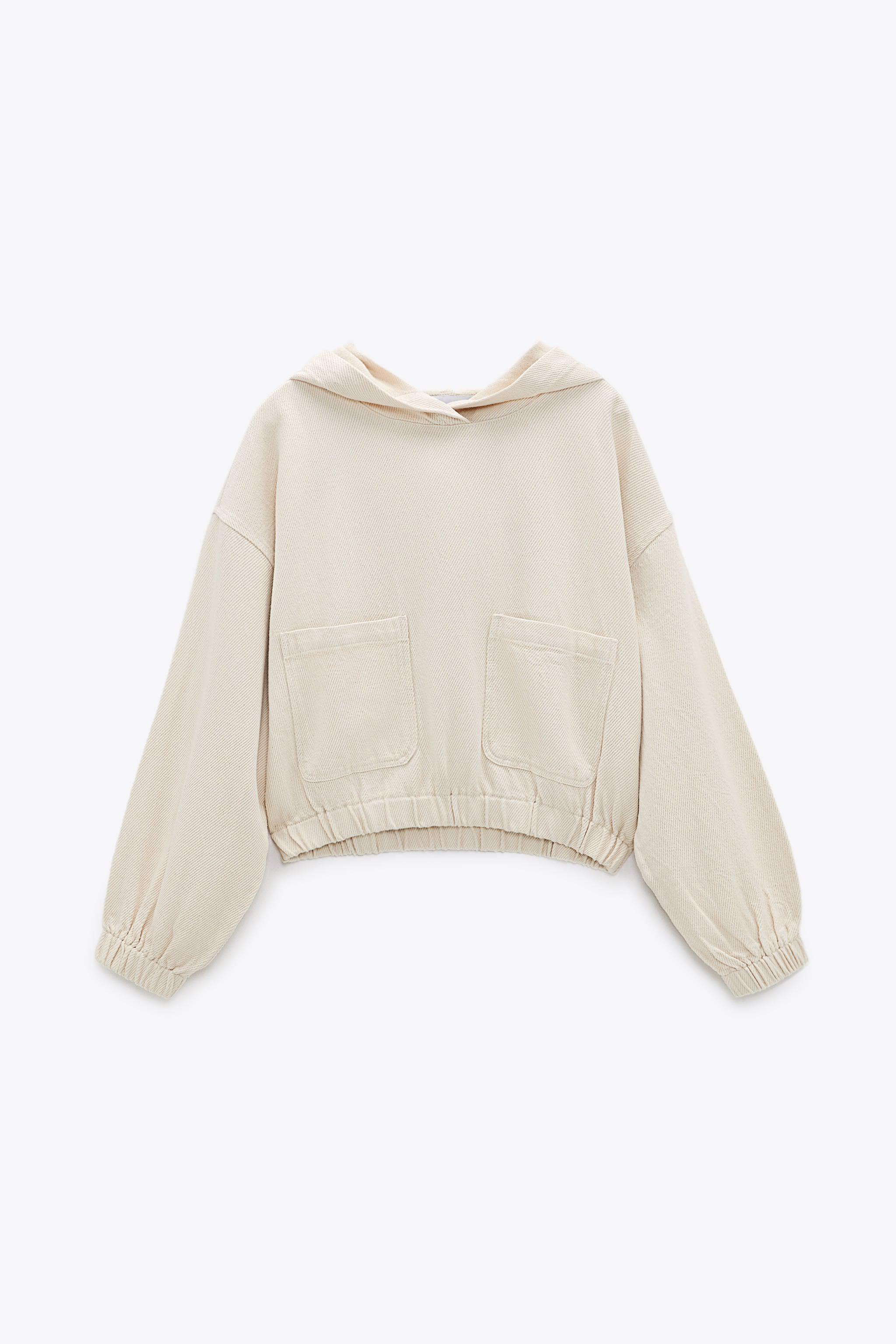 HOODED TWILL TOP 8