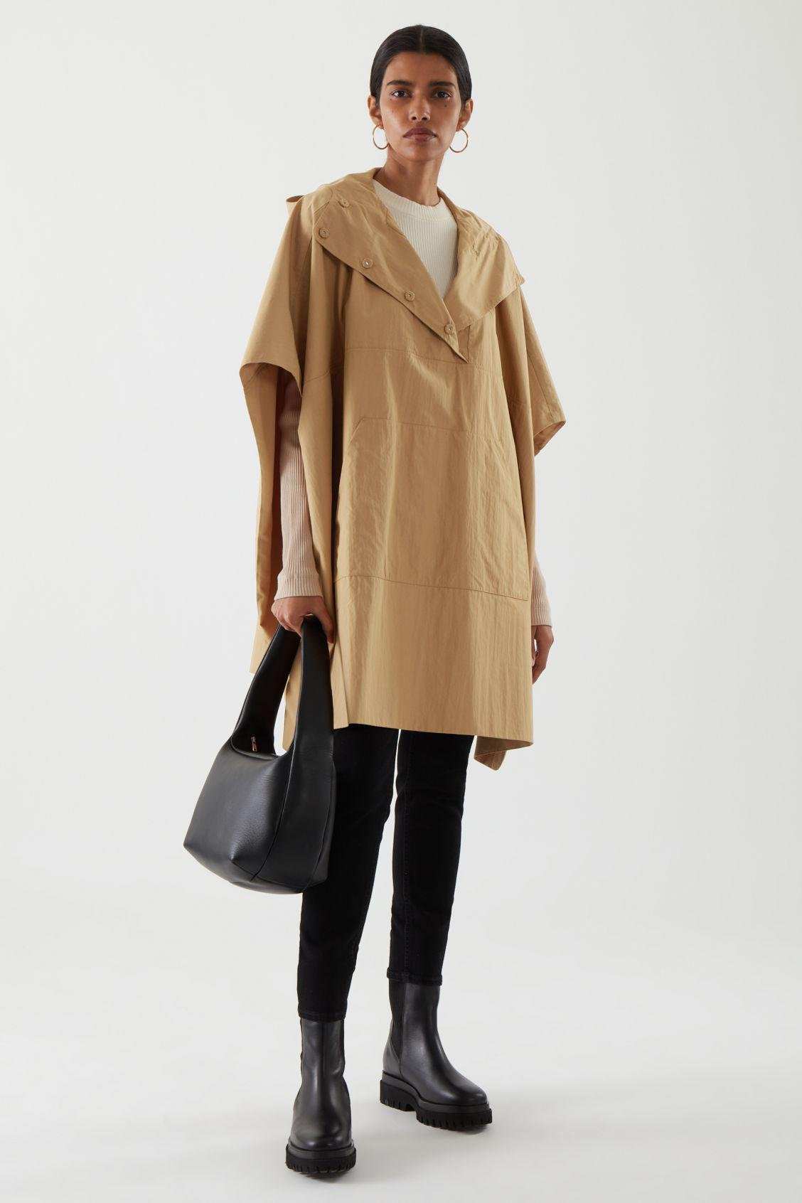 HOODED CAPE 0
