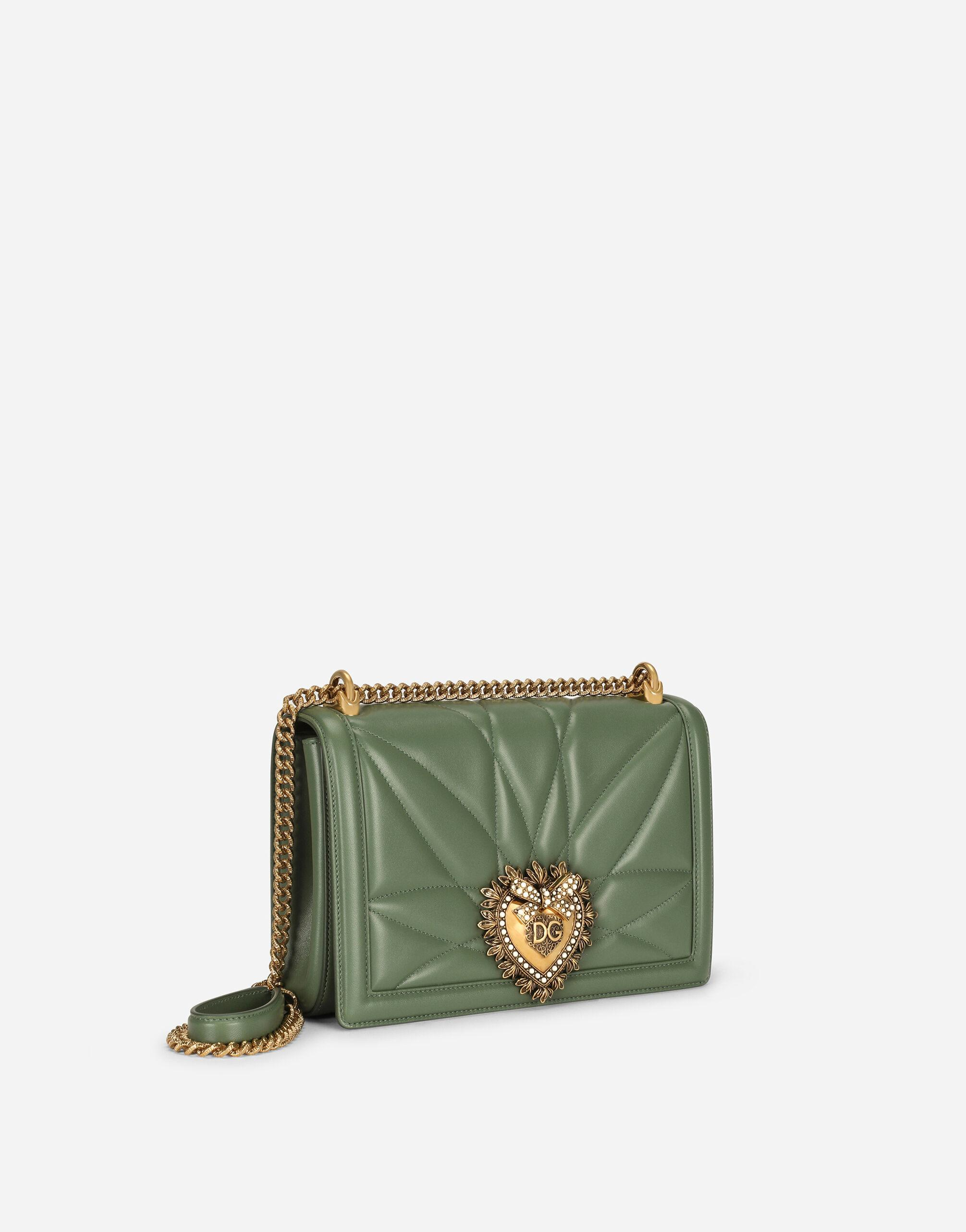 Large Devotion crossbody bag in quilted nappa leather 1