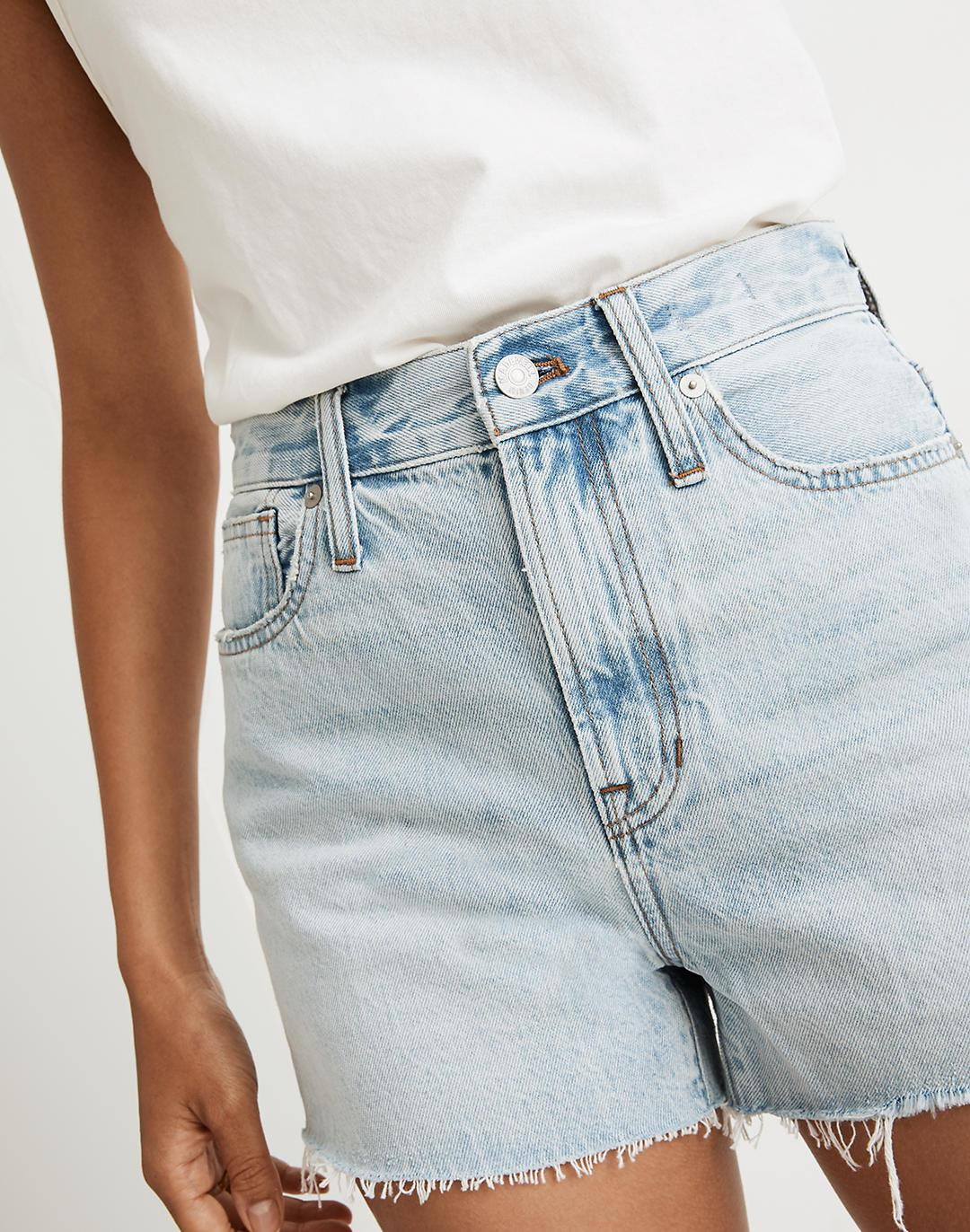 The Perfect Jean Short in Millman Wash 4