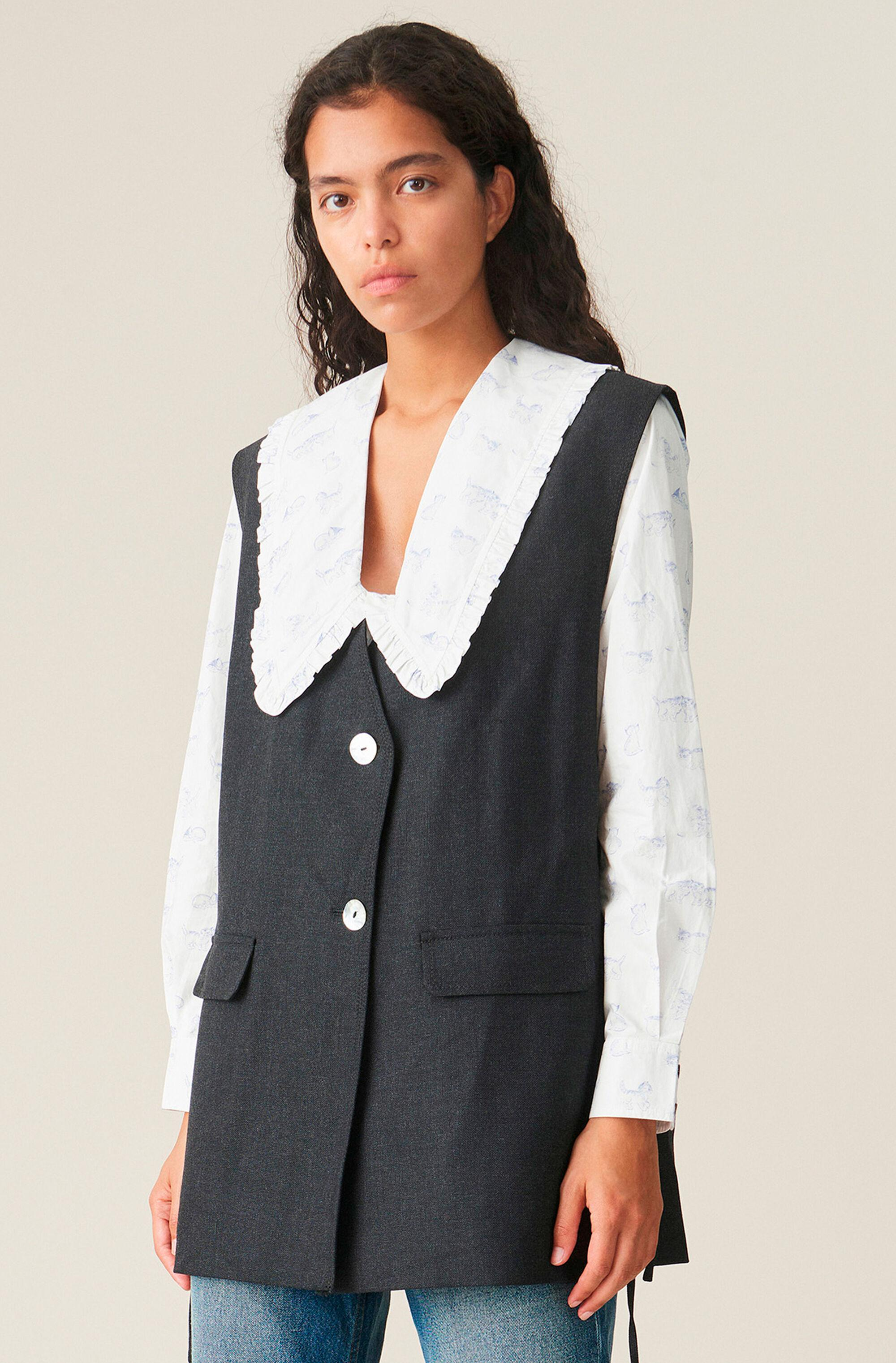 Wool Suiting Vest