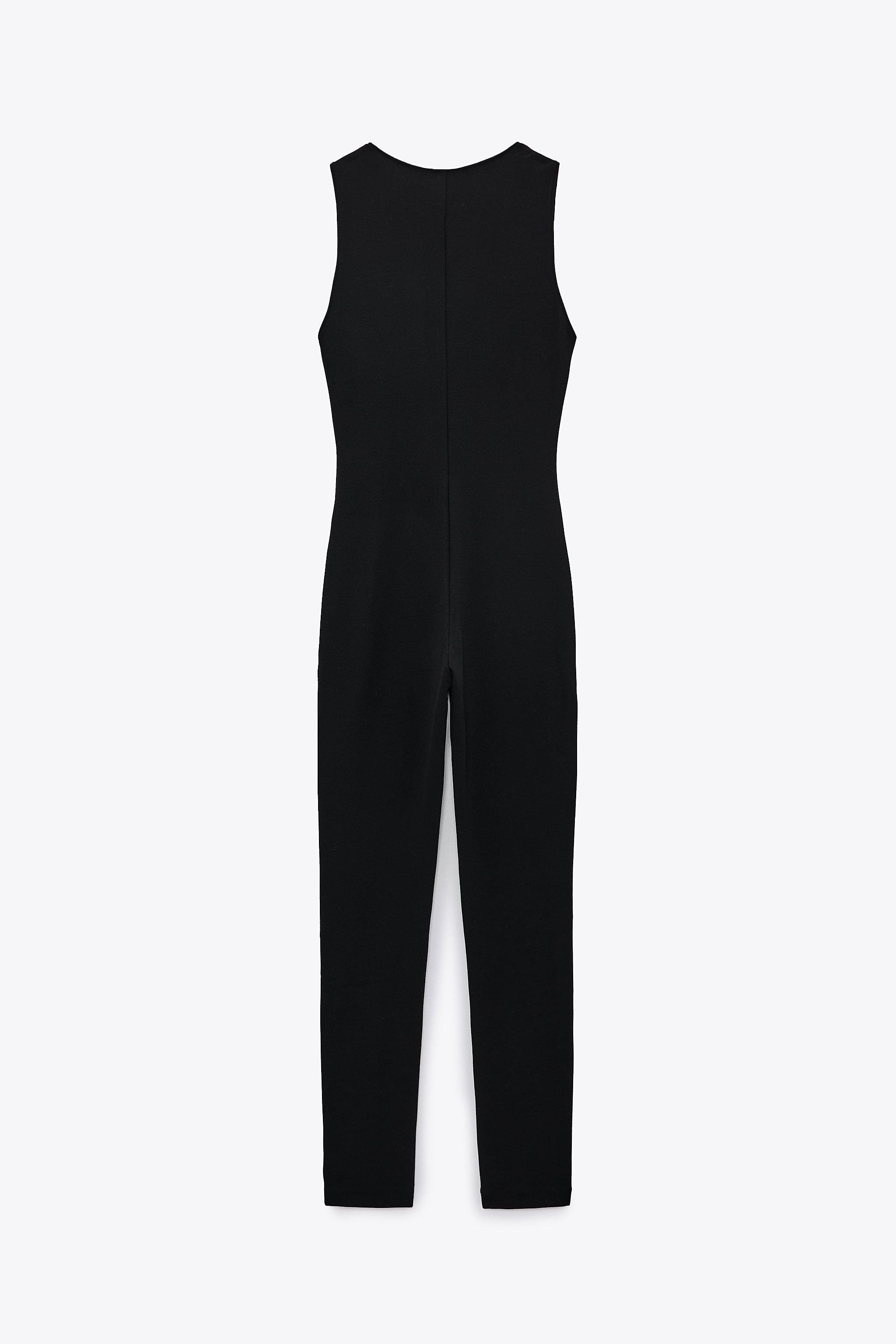LONG FITTED JUMPSUIT 5