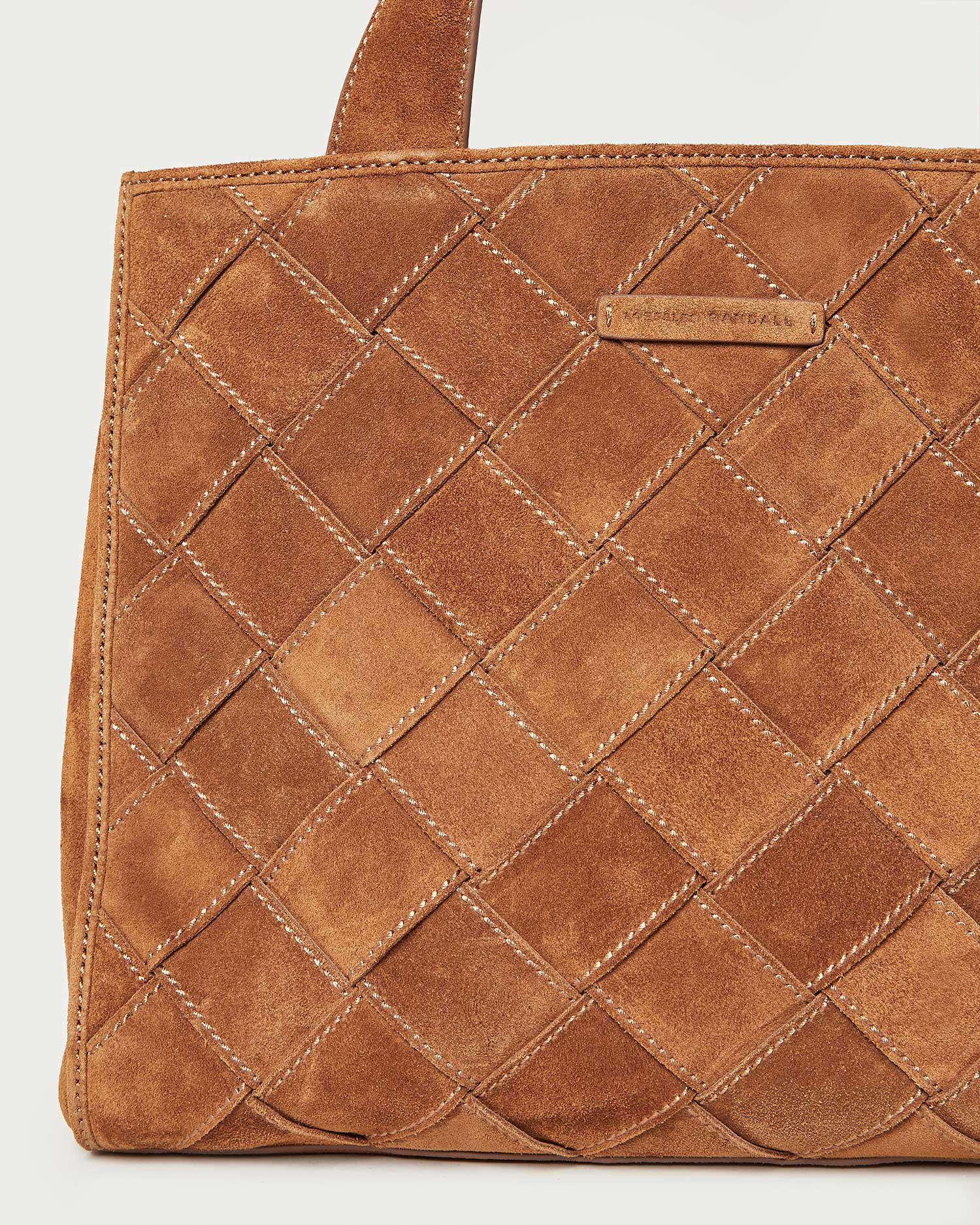 Brandy Cacao Work Tote 1