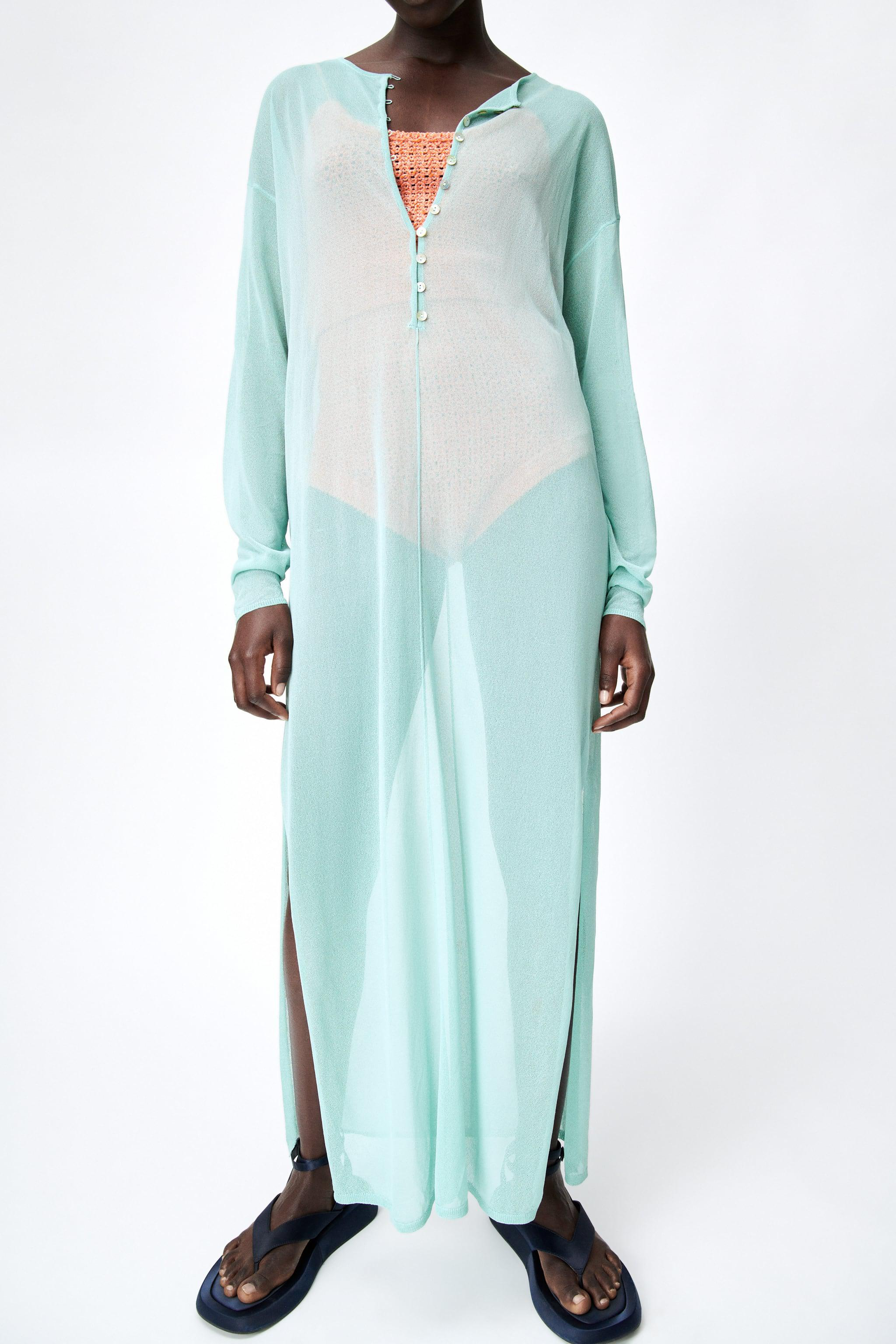 SEMI-SHEER KNIT TUNIC LIMITED EDITION 2