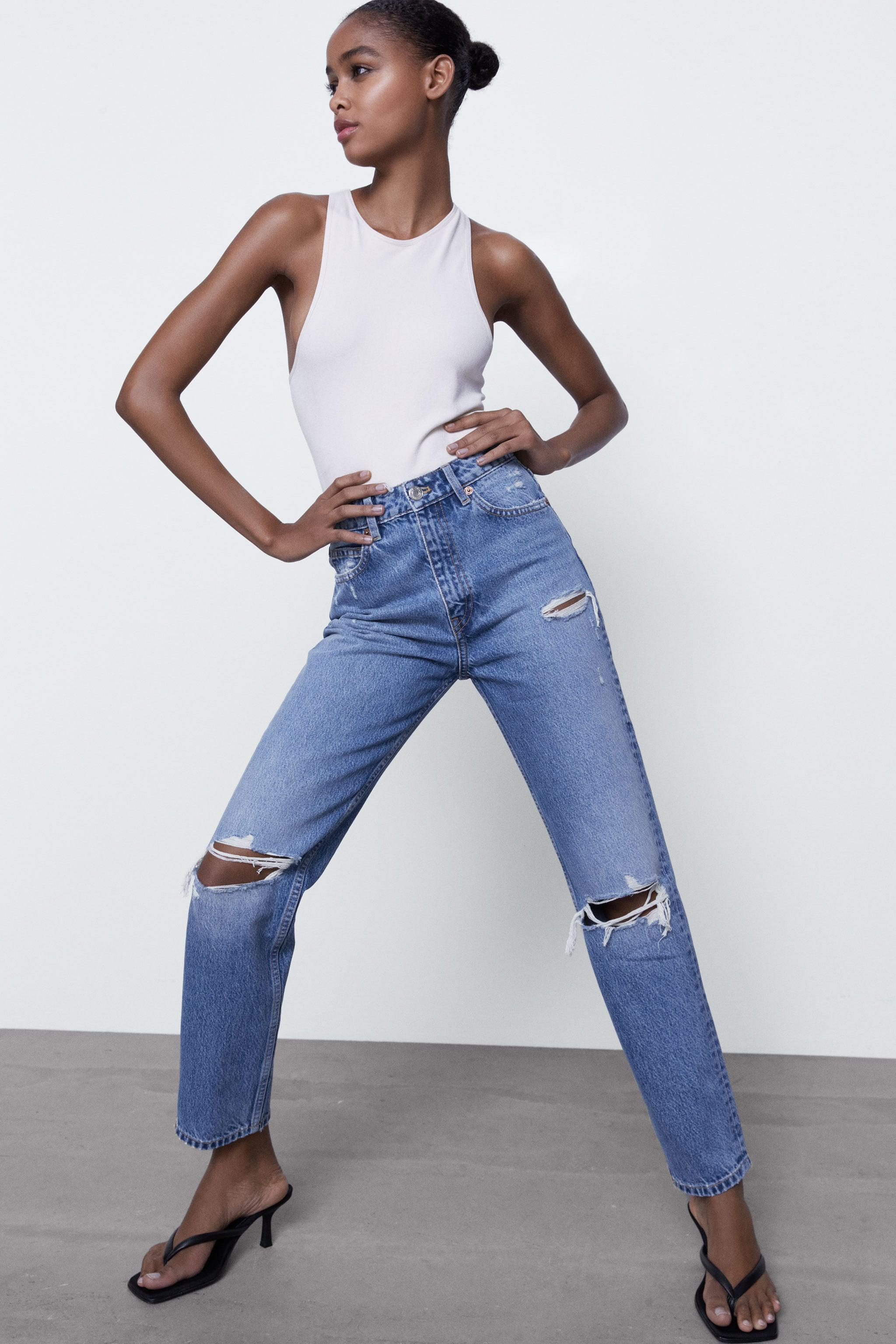 RIPPED MOM FIT JEANS 6