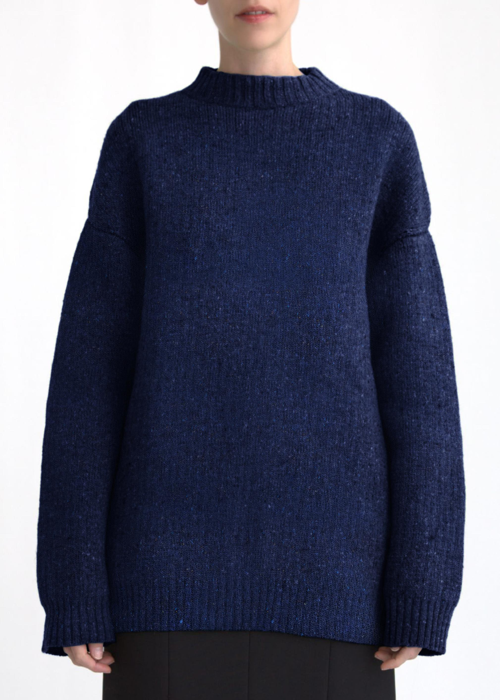 Double Faced Pullover