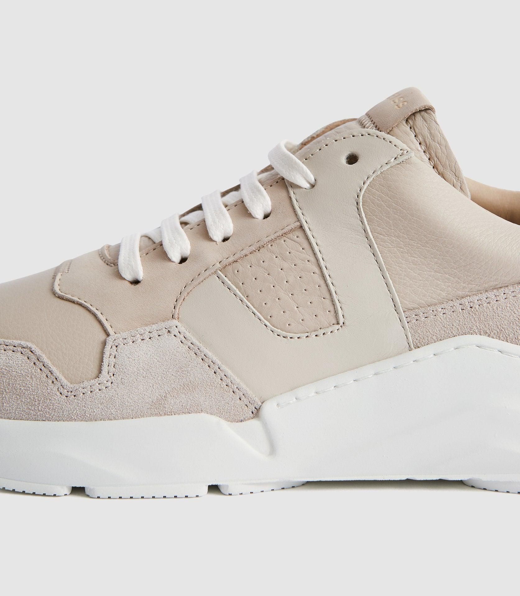 SHELTON - LEATHER TRAINERS 5