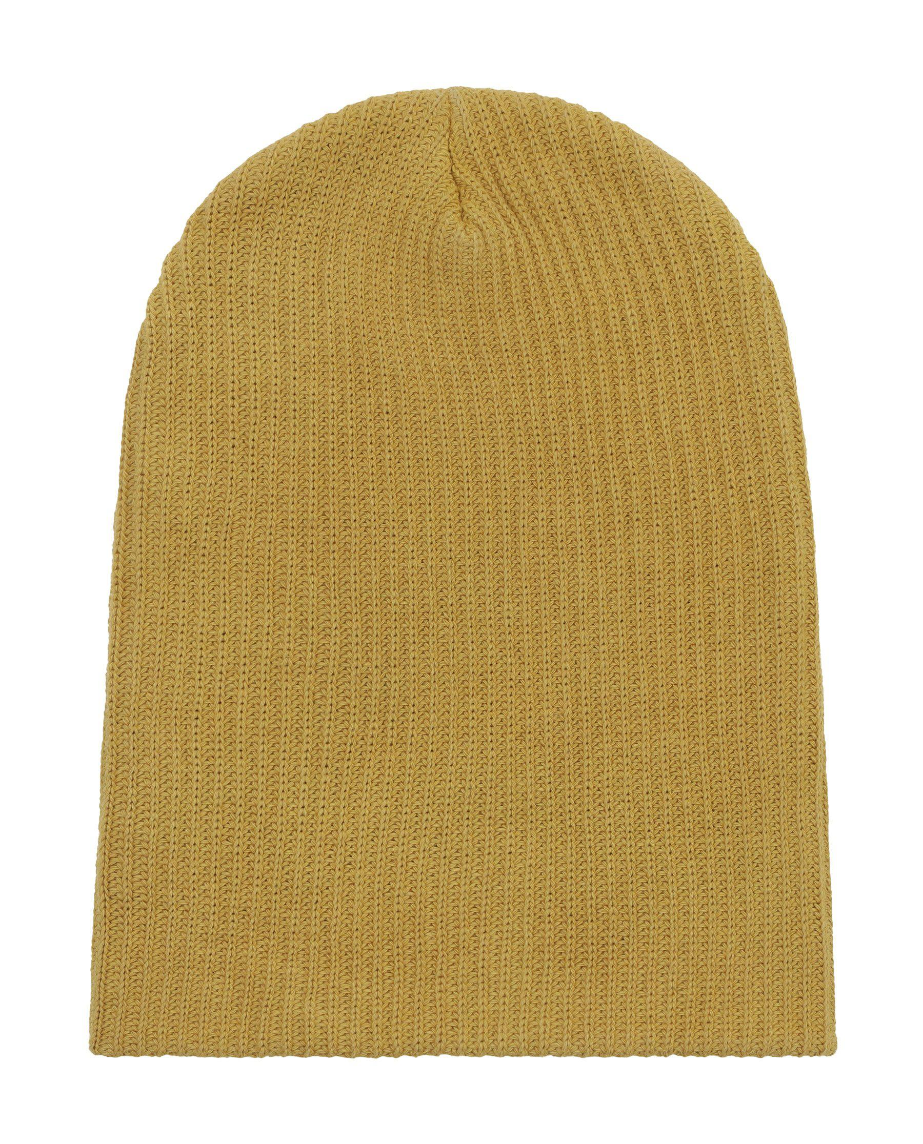The Plant-Dyed Beanie. -- Pomegranate Rind