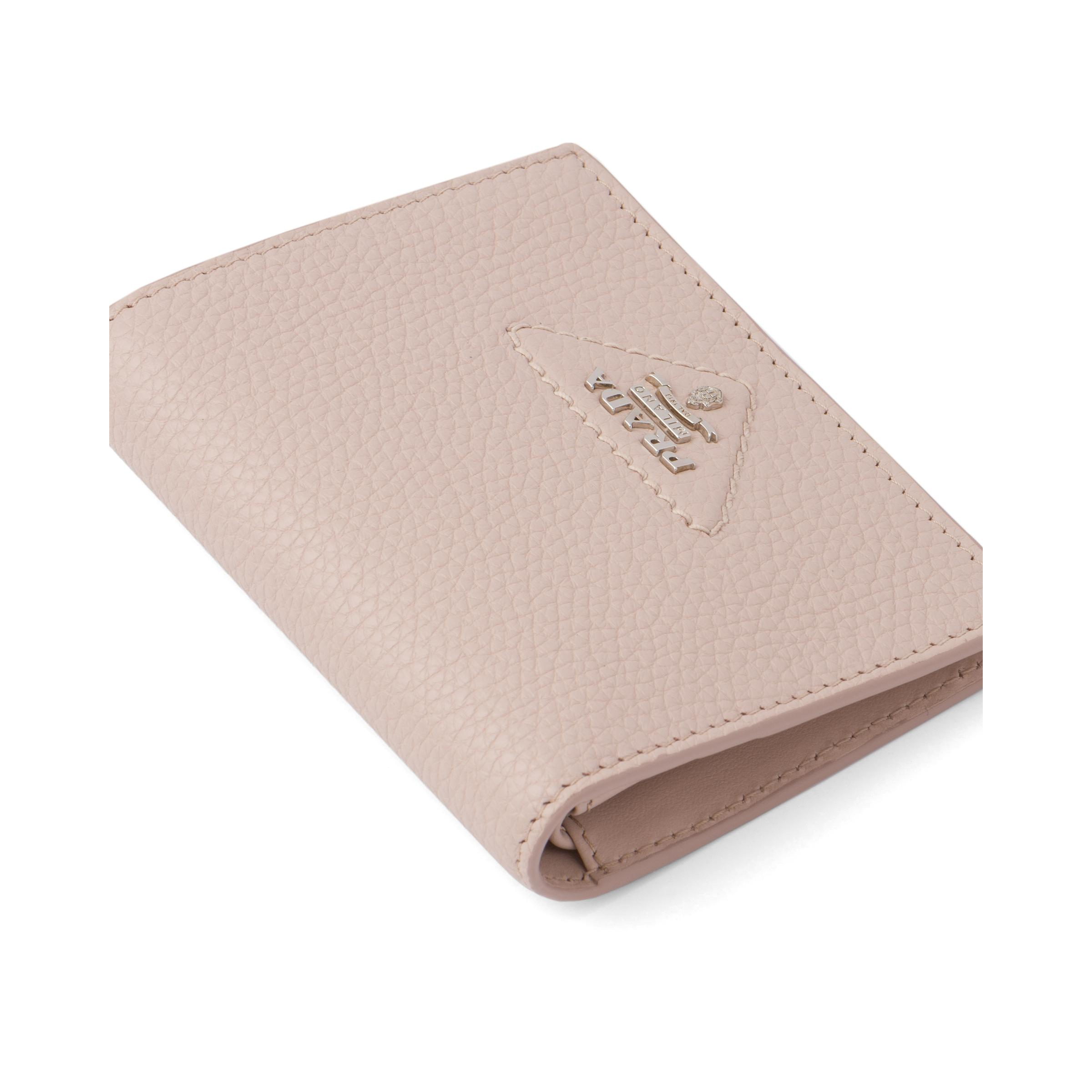 Small Leather Wallet Women Water Lily 1