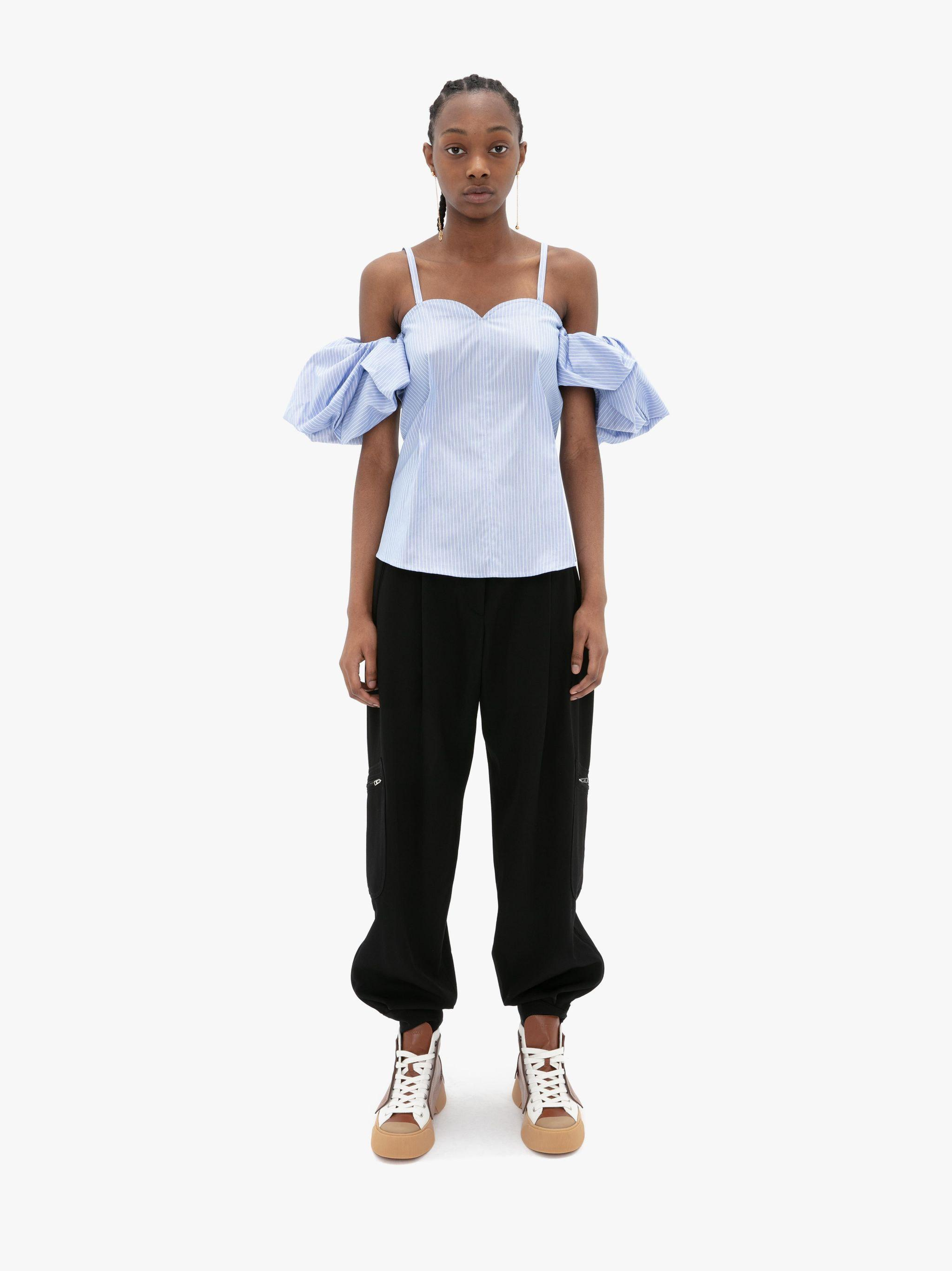 OFF THE SHOULDER CAMISOLE TOP