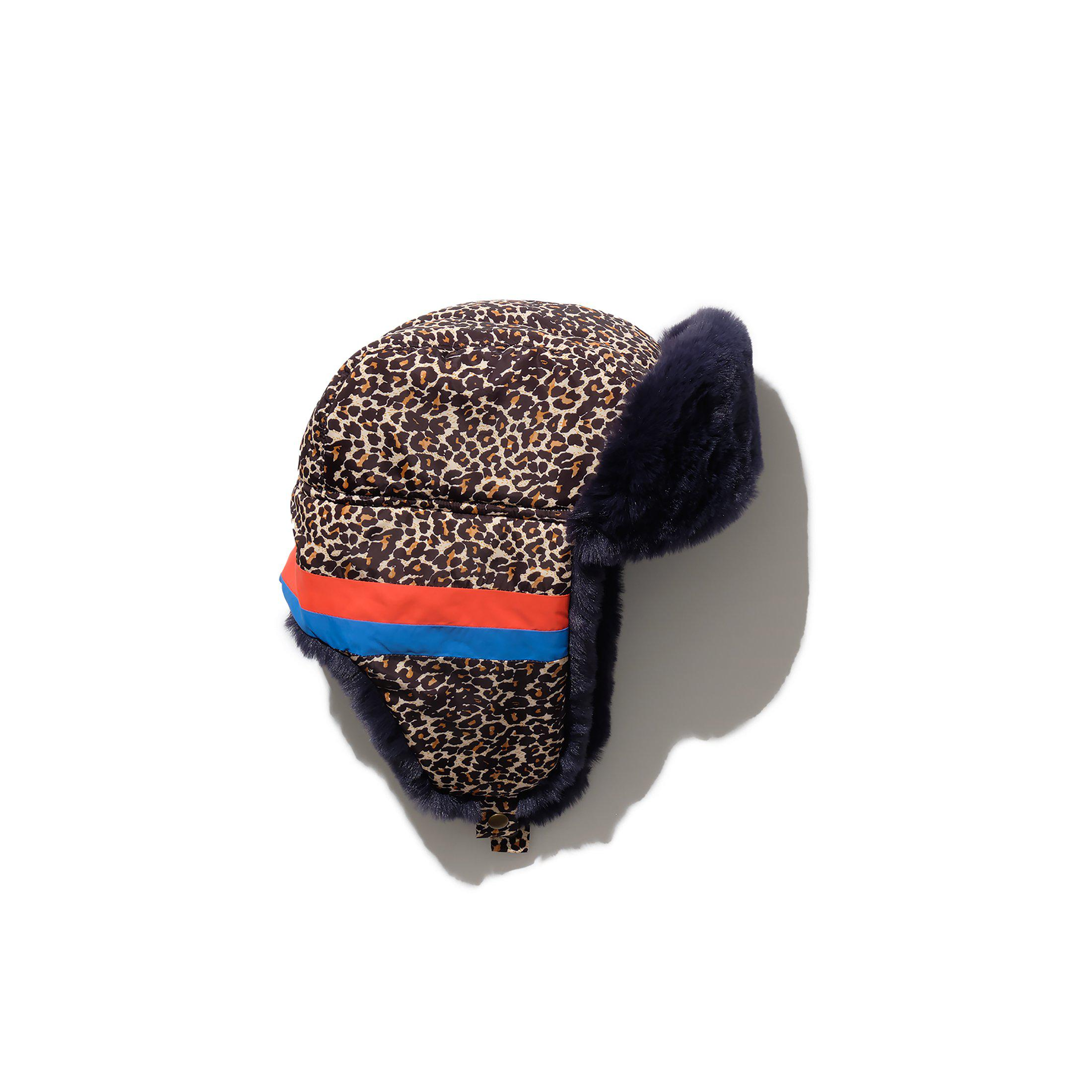 The Trapper Hat - Leopard