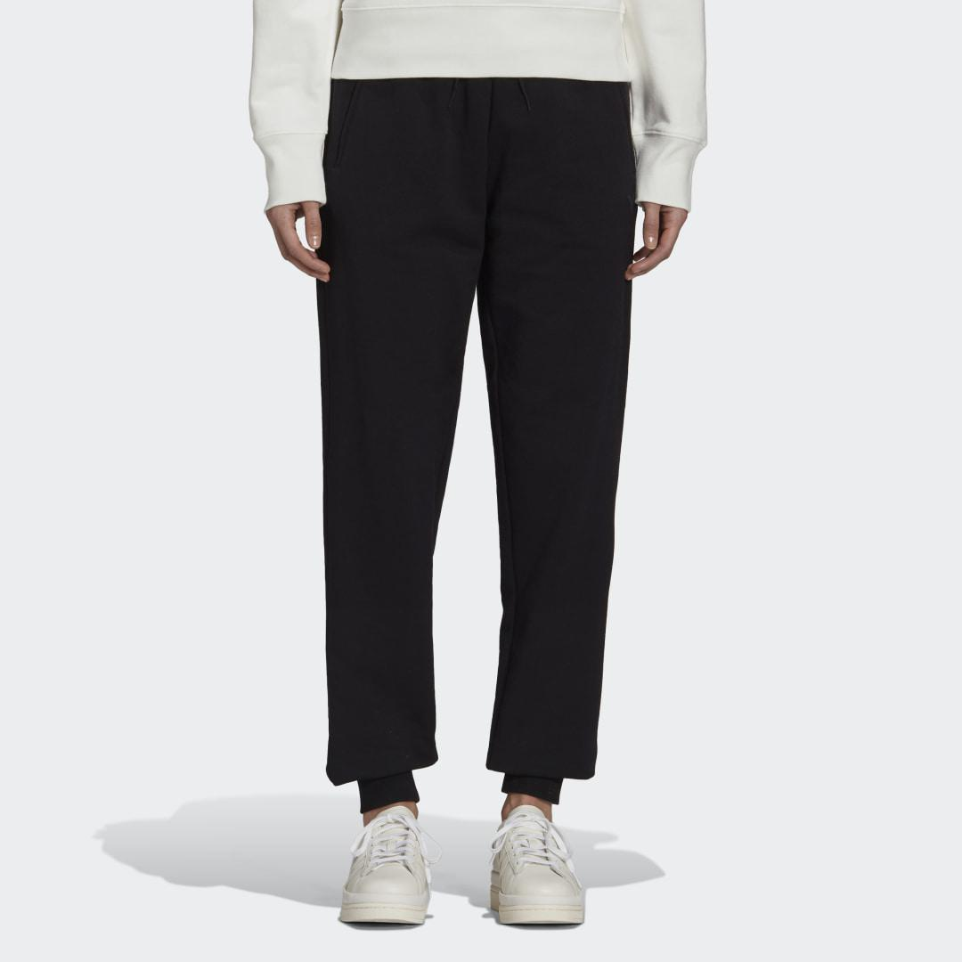 Y-3 Classic Terry Cuffed Pants Black