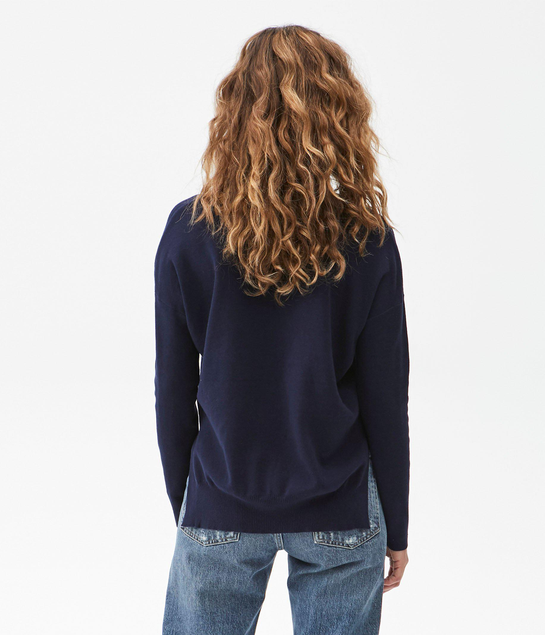 Ivory Pullover Sweater 2
