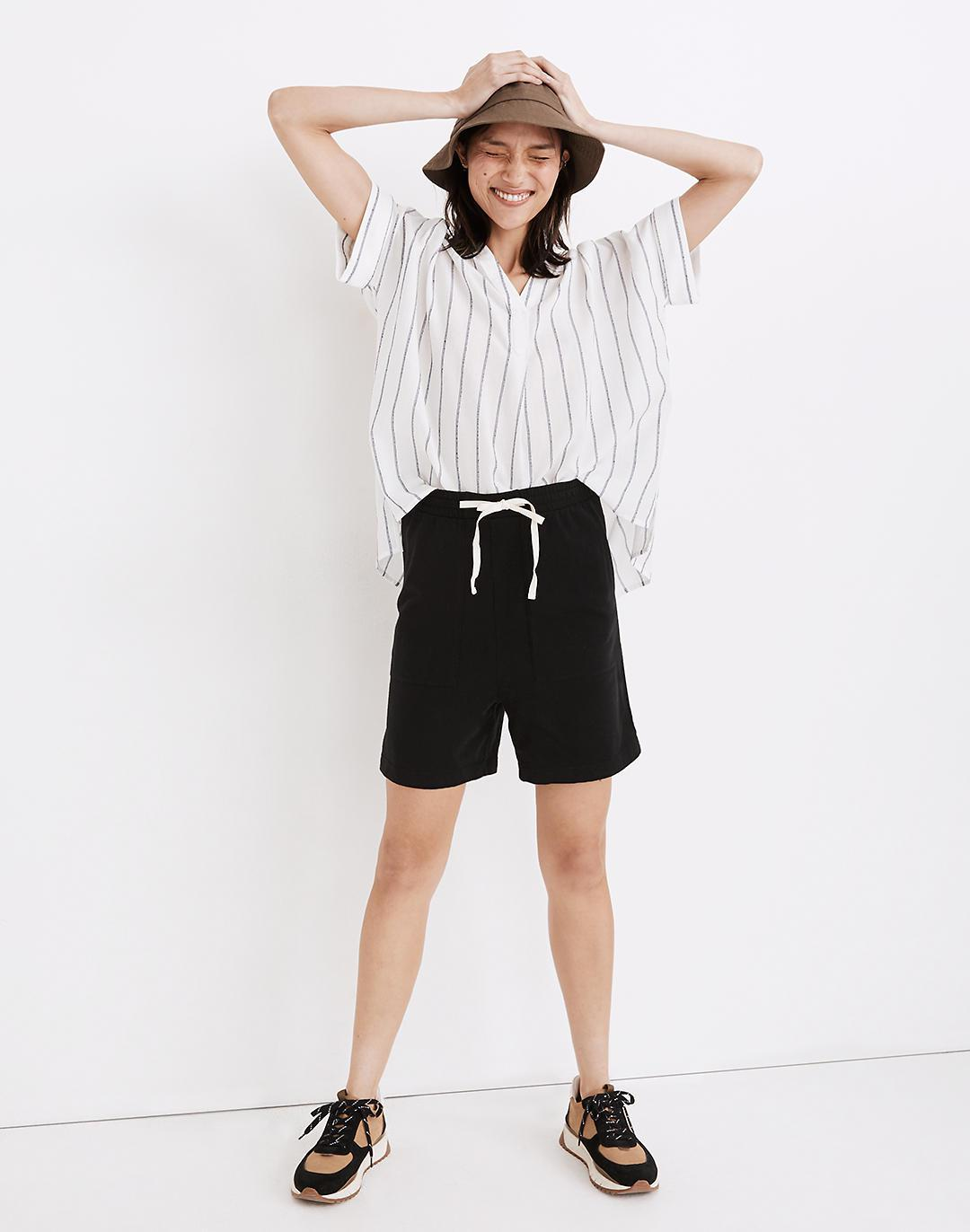 (Re)sourced Cotton Newville Drawstring Shorts
