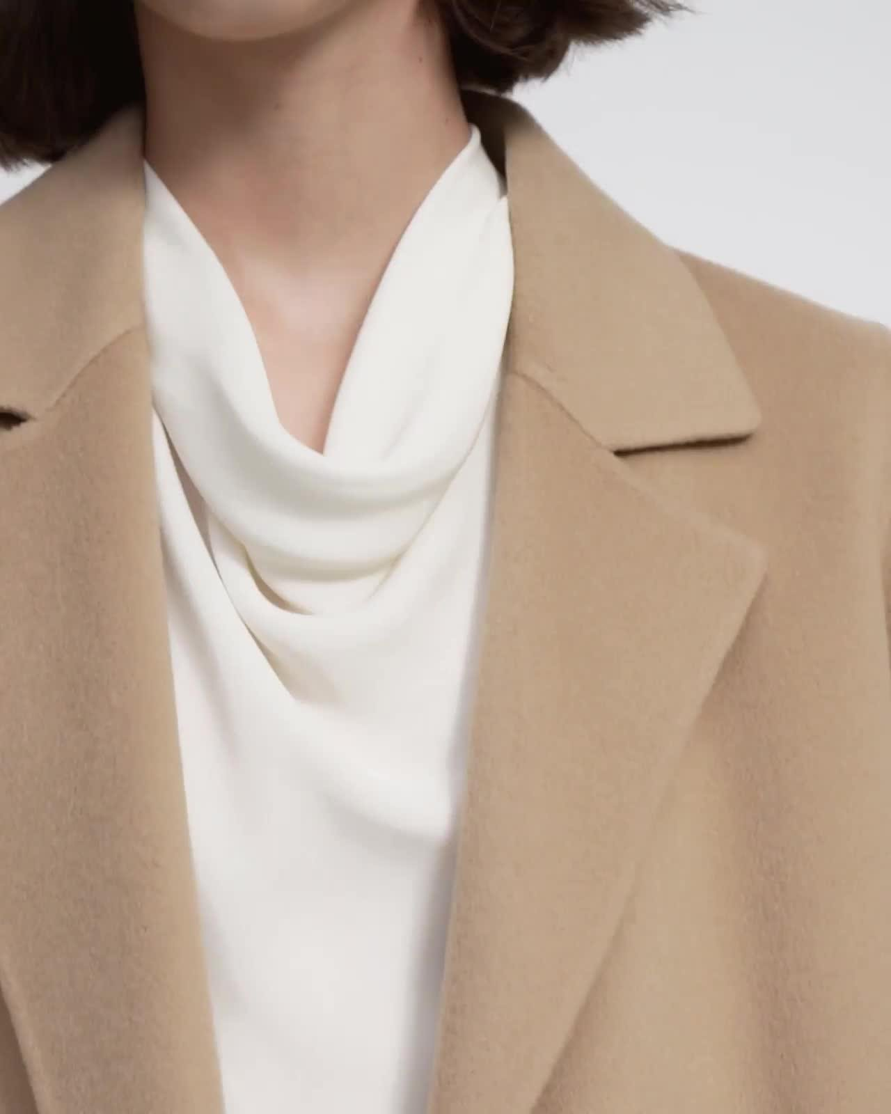 Clairene Jacket in Double-Face Wool-Cashmere 5