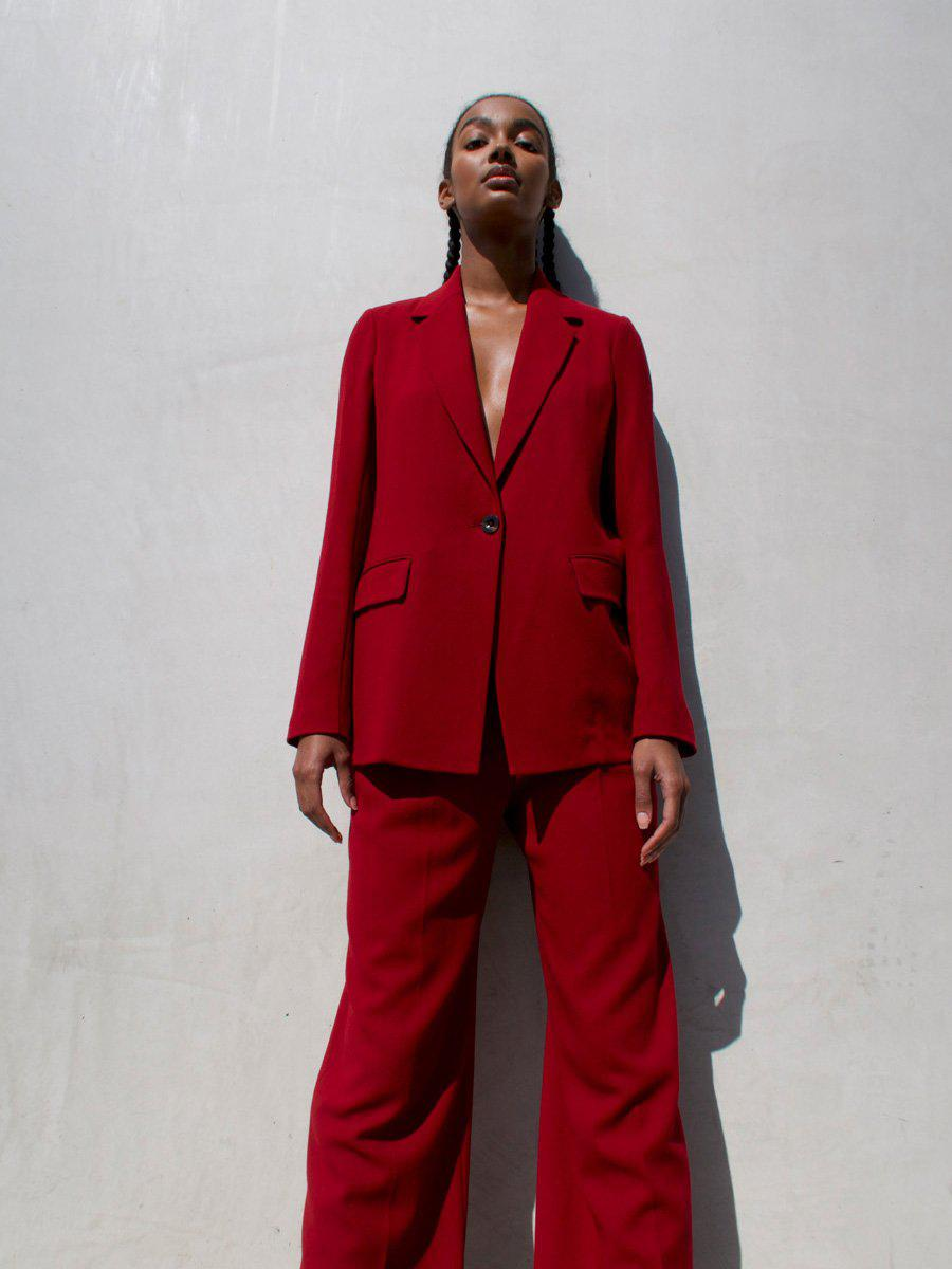 Straight Fit Unlined Jacket