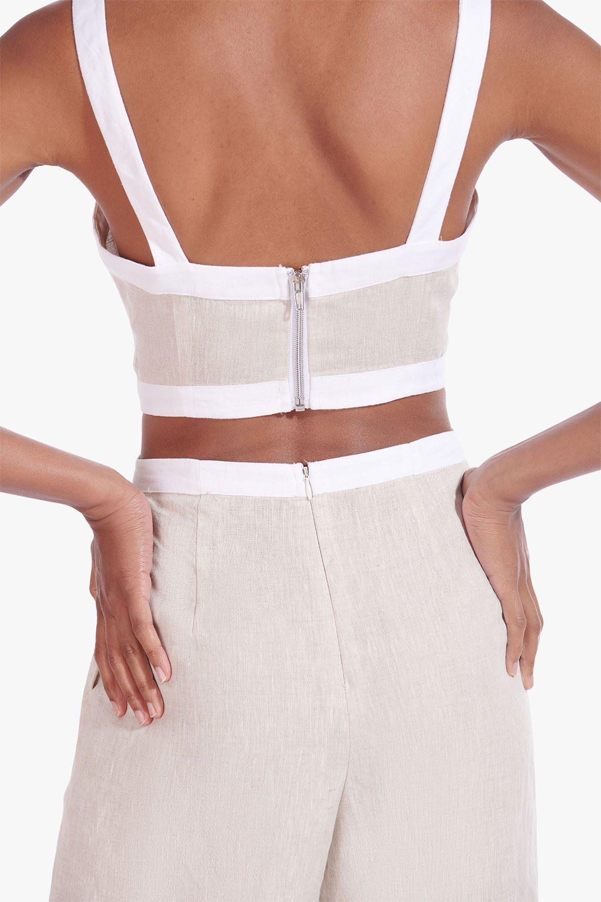 SHELLY JUMPSUIT | NATURAL WHITE 5