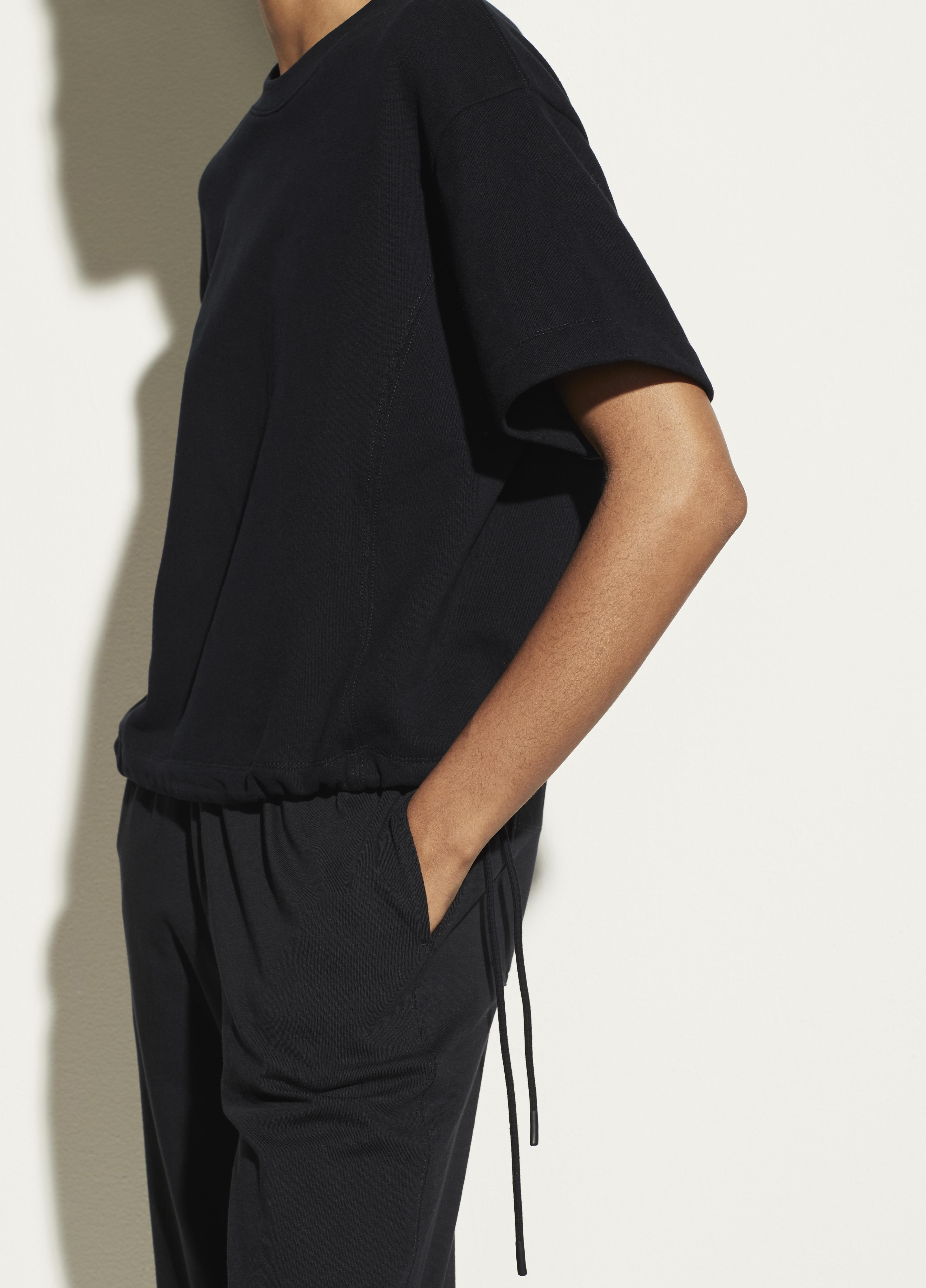 Wide Sleeve Drawcord Pullover 3