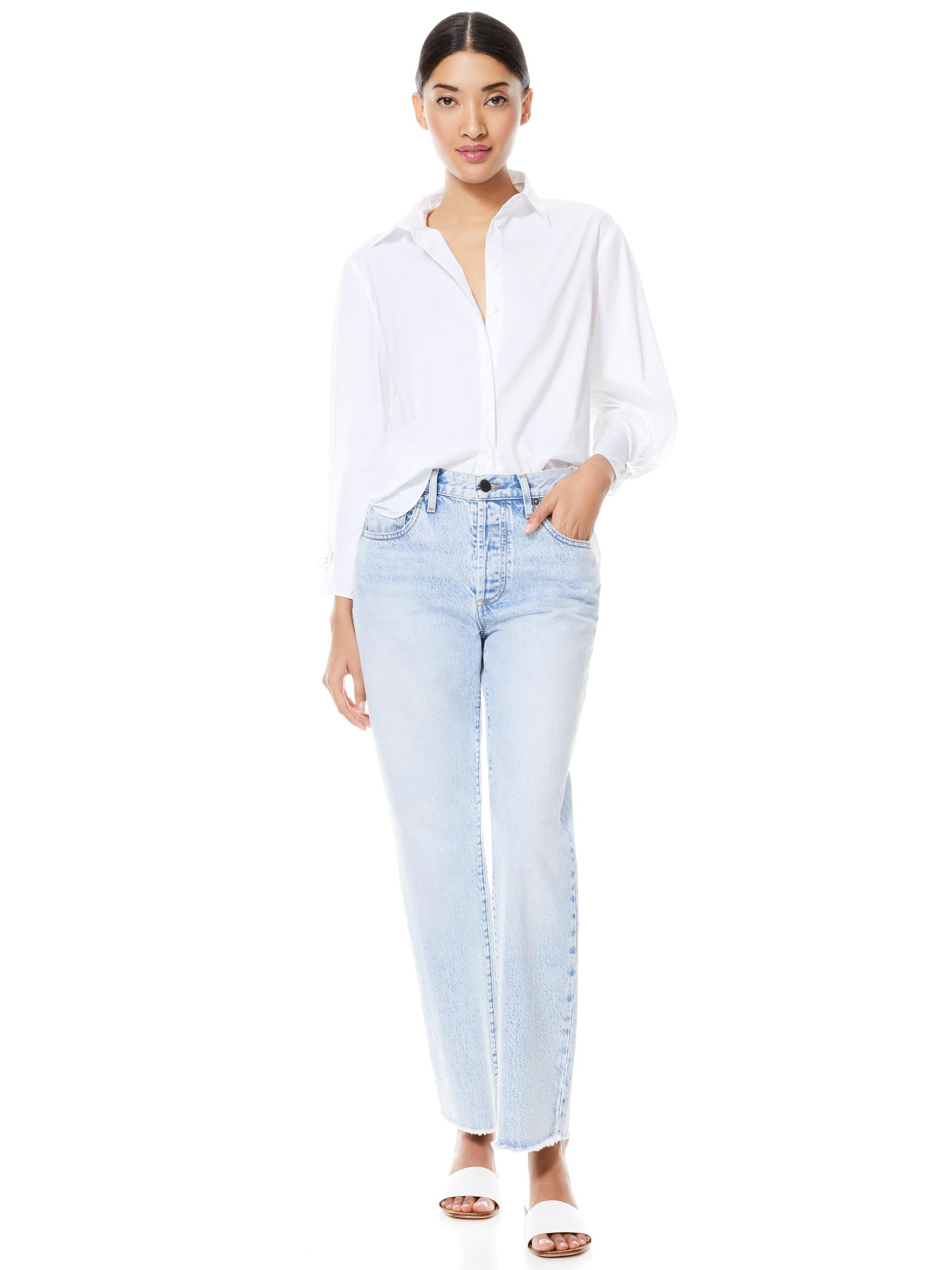 WES PLEATED SLEEVE BUTTON DOWN 2