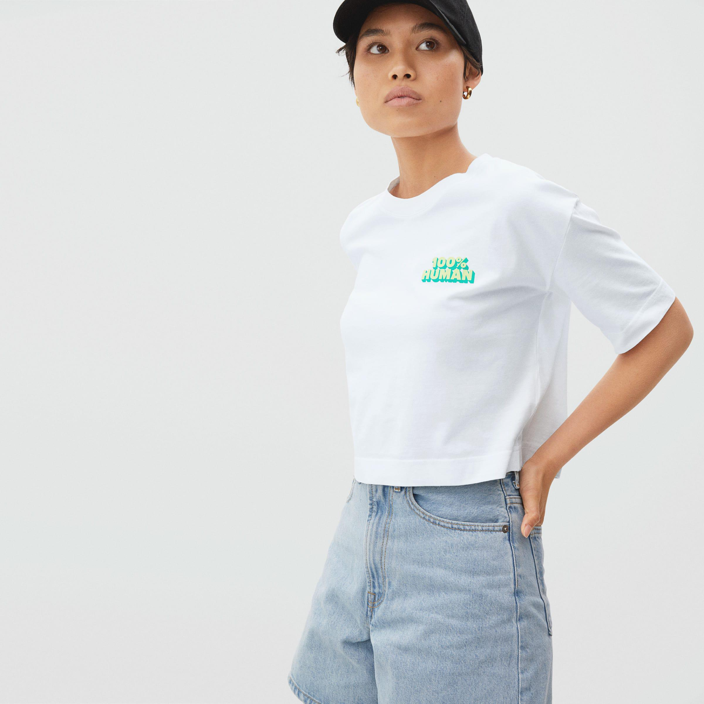 The 100% Human Cropped Tee