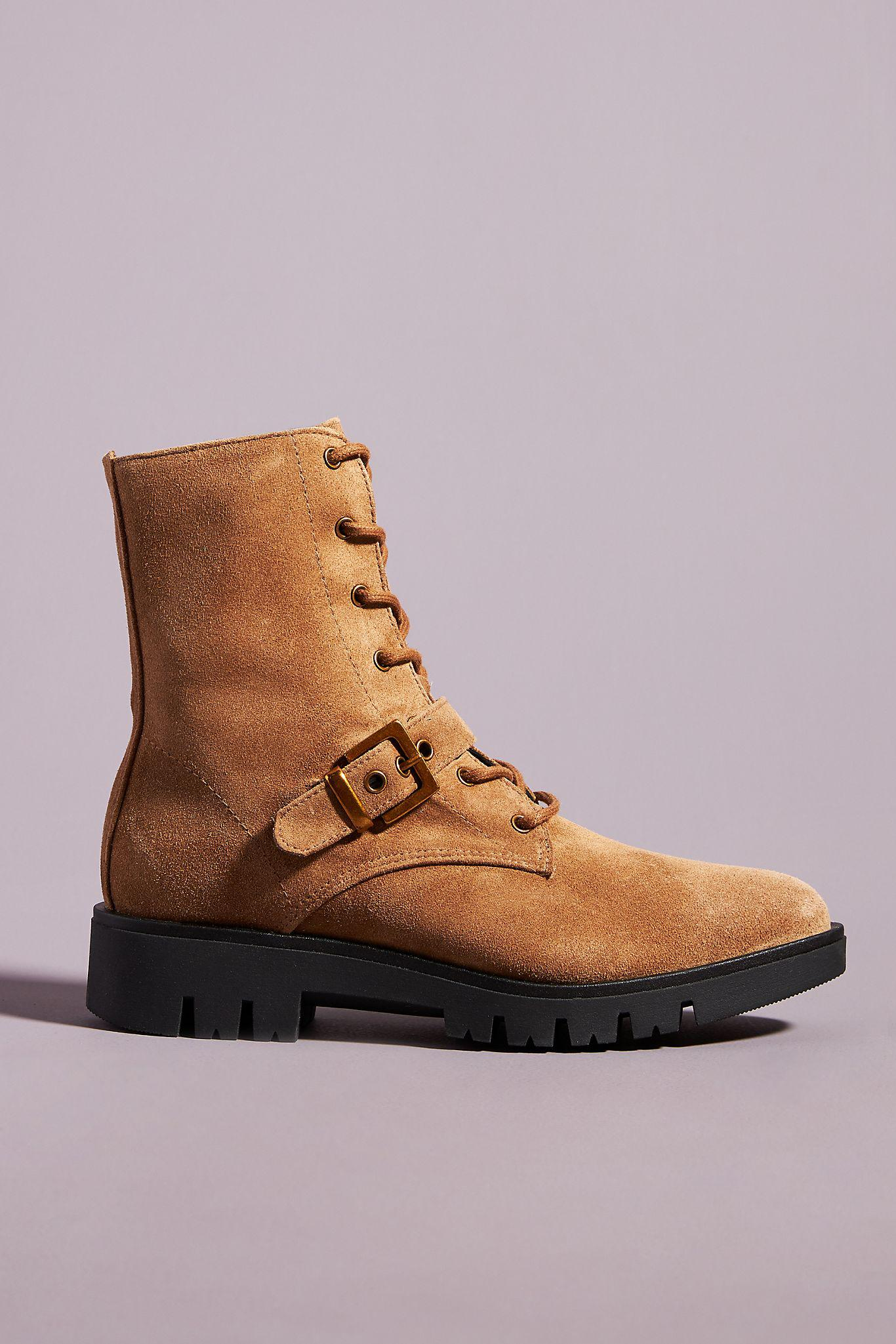 Kalia Lace-Up Boots