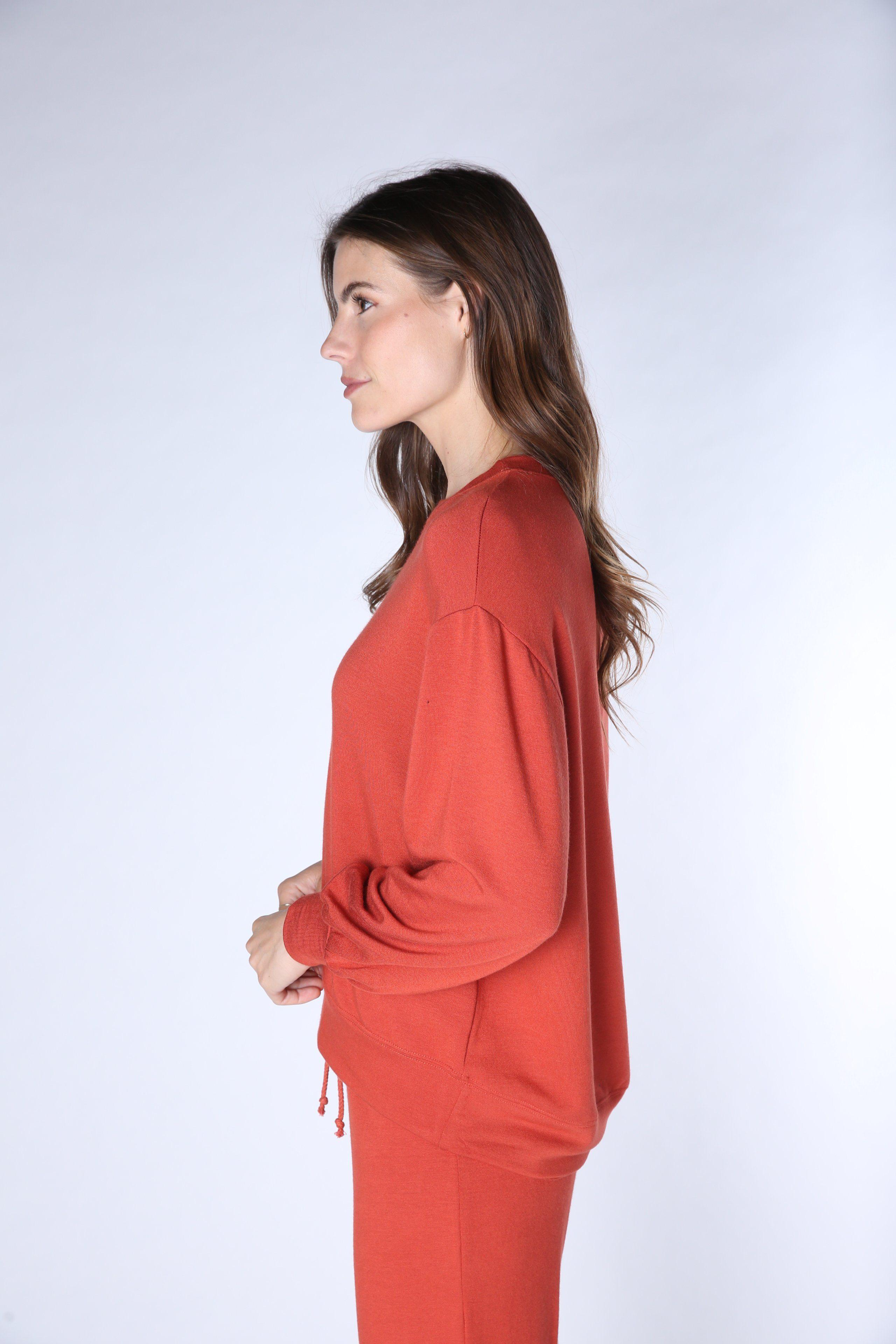 Soothe High-Lo Pullover 7