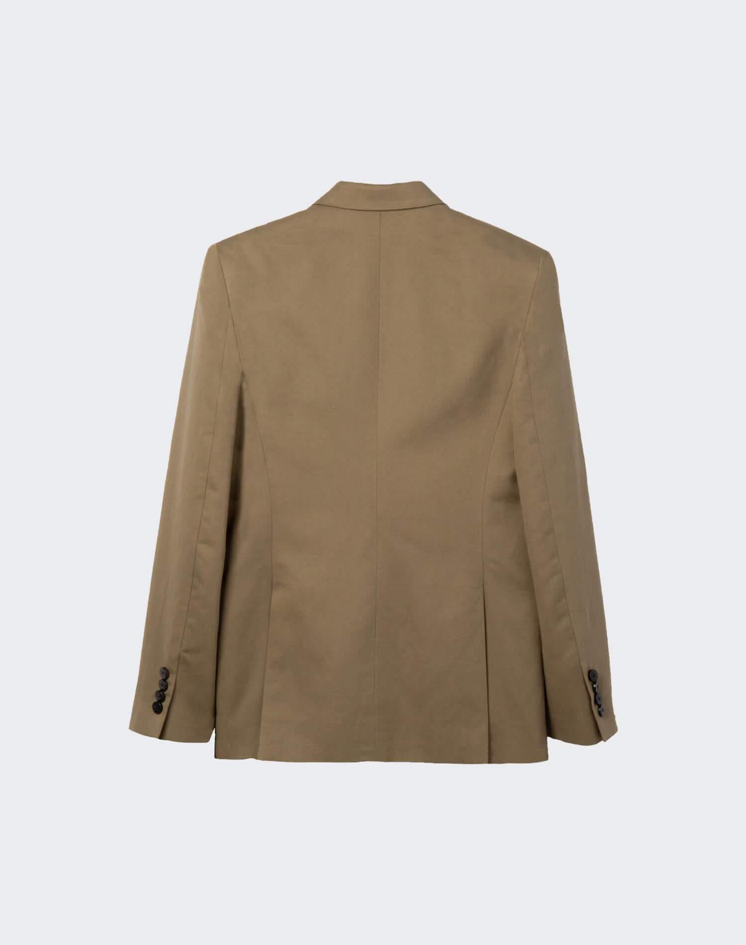 Double Breasted Blazer - Sage 1