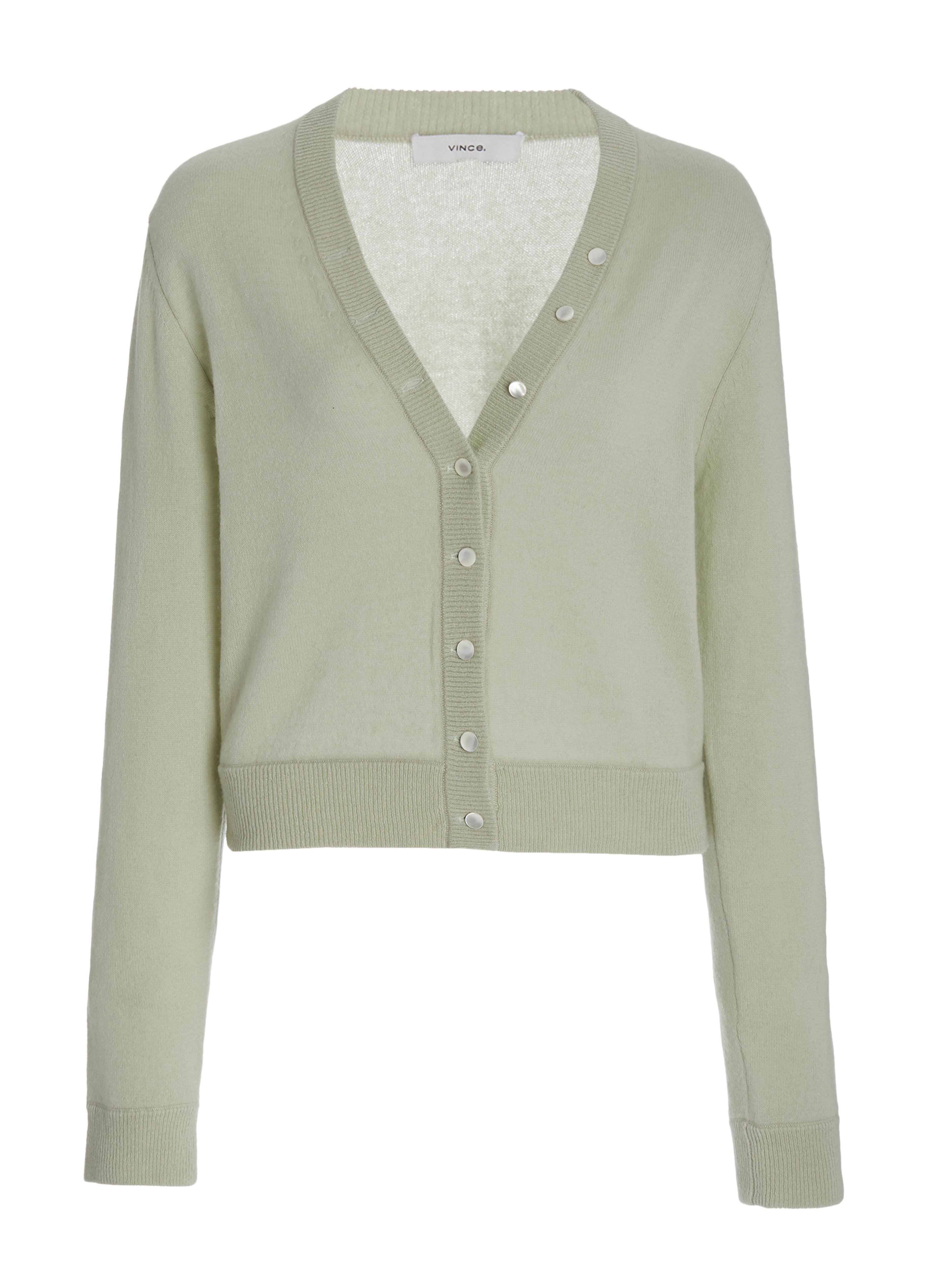 Cashmere Buttoned Cardigan 4