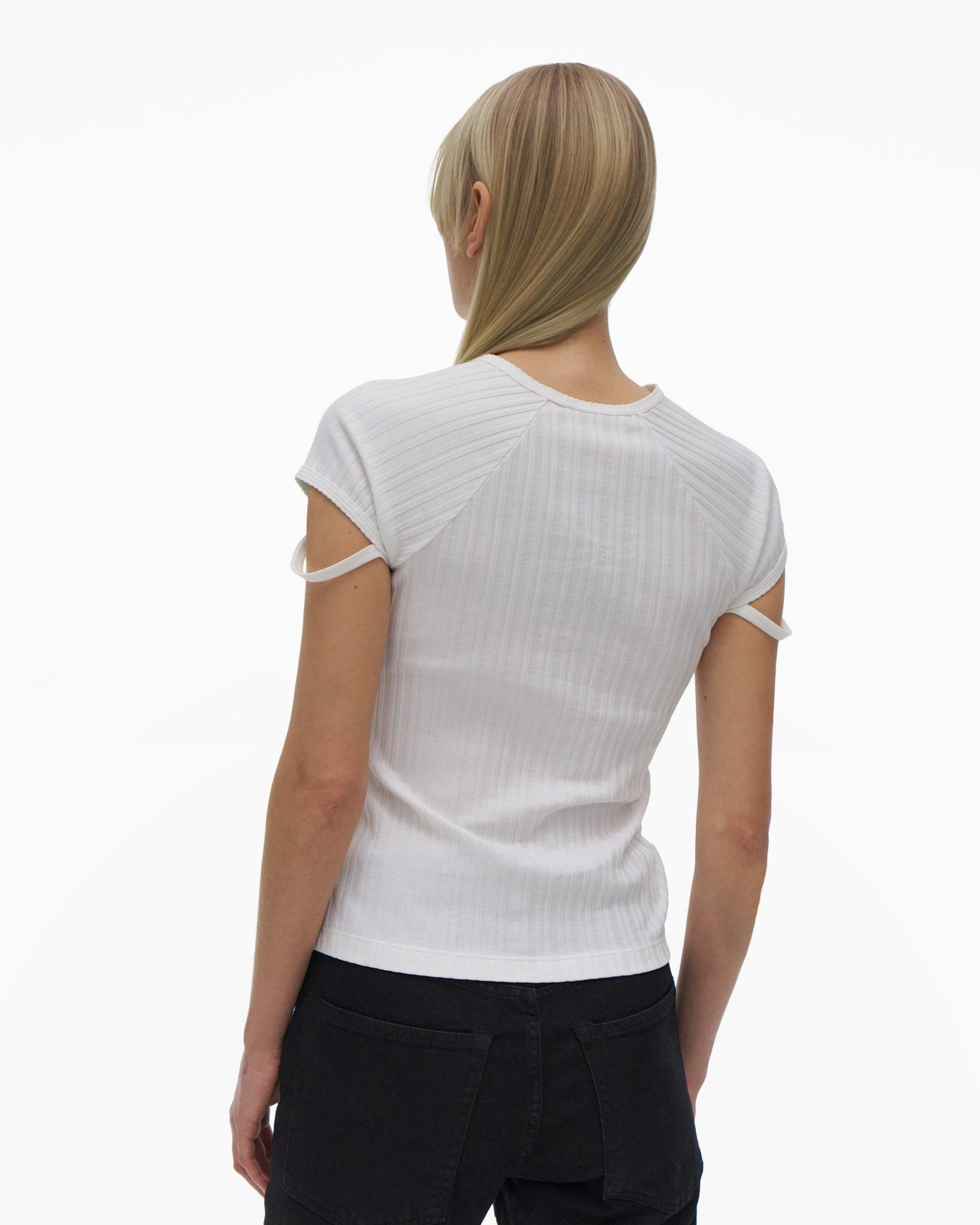 LITTLE RIBBED TEE 2