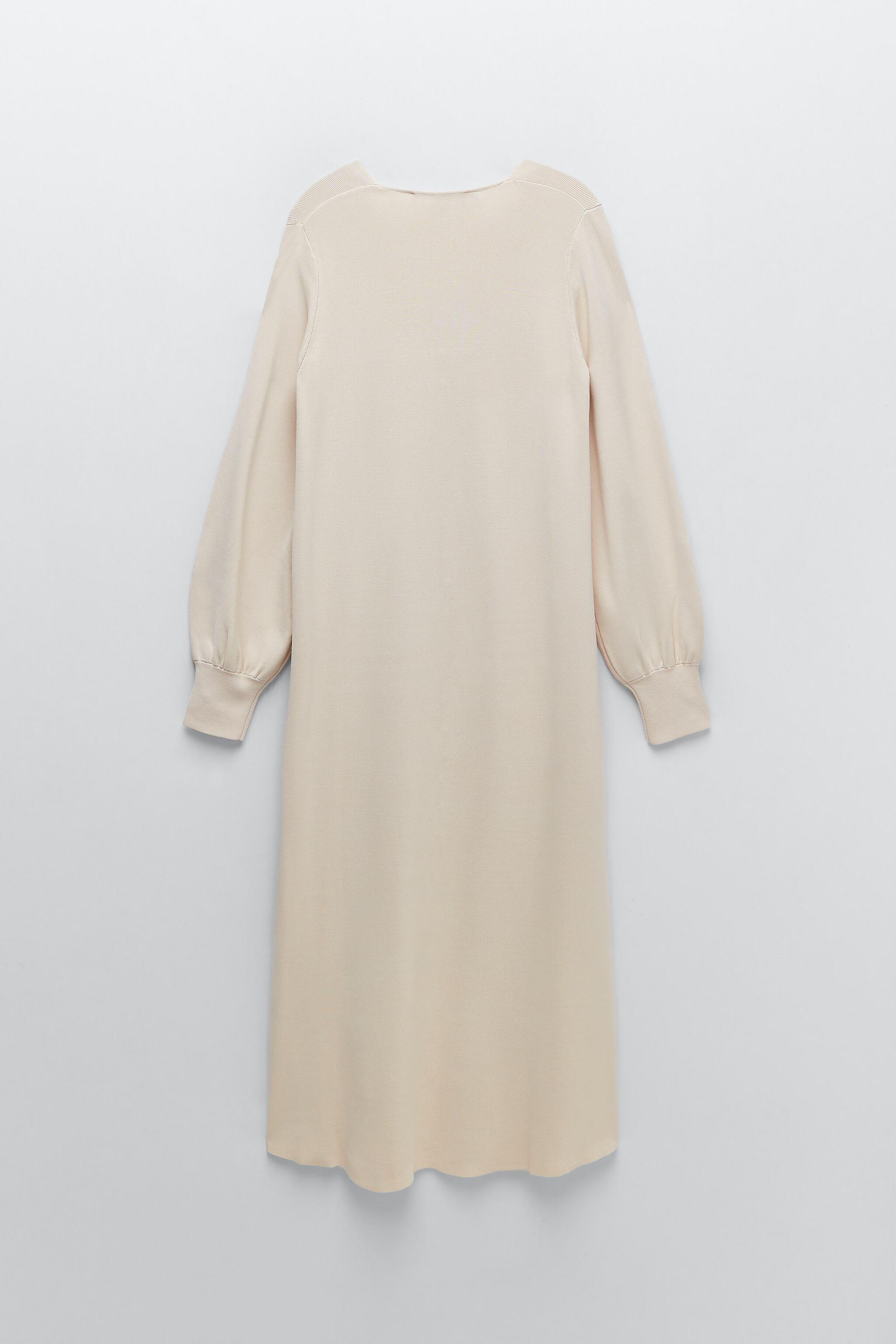LIMITED EDITION BUTTONED KNIT DRESS 9