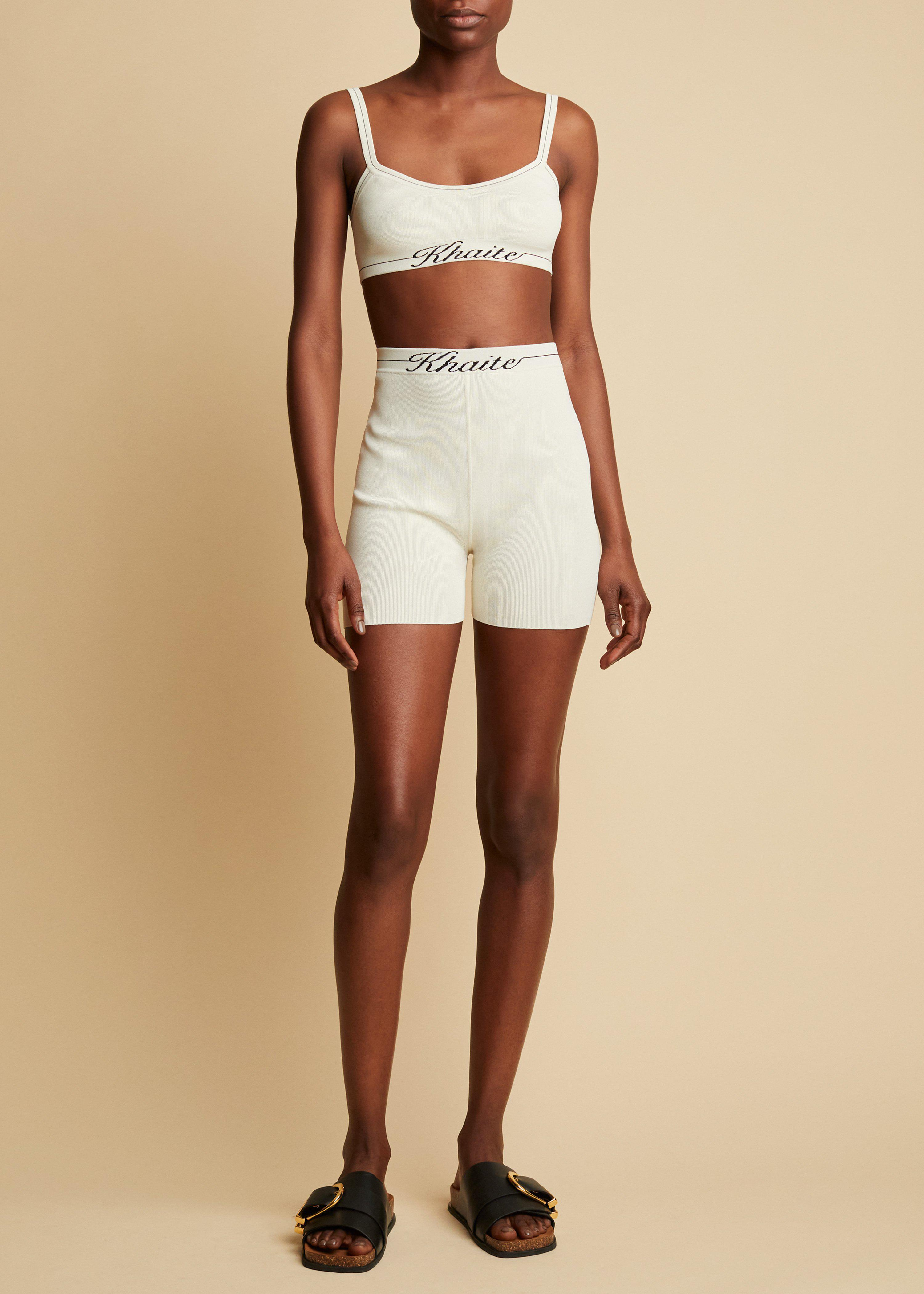 The Bryant Short in Ivory