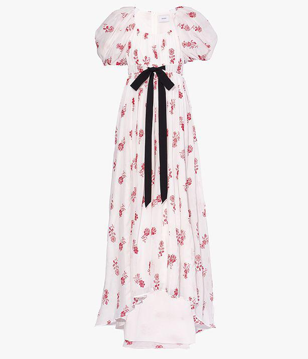 Clarimond Gown Floral Embroidered Cotton Voile 4
