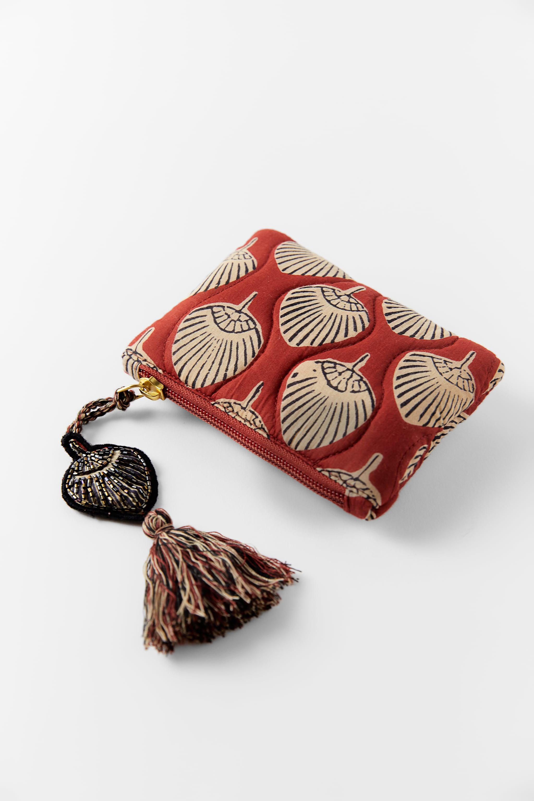 PRINTED QUILTED COIN PURSE 1
