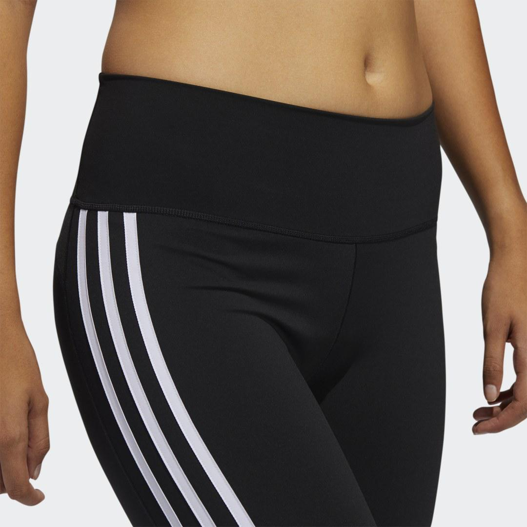 Believe This 2.0 3-Stripes 7/8 Tights Black 8