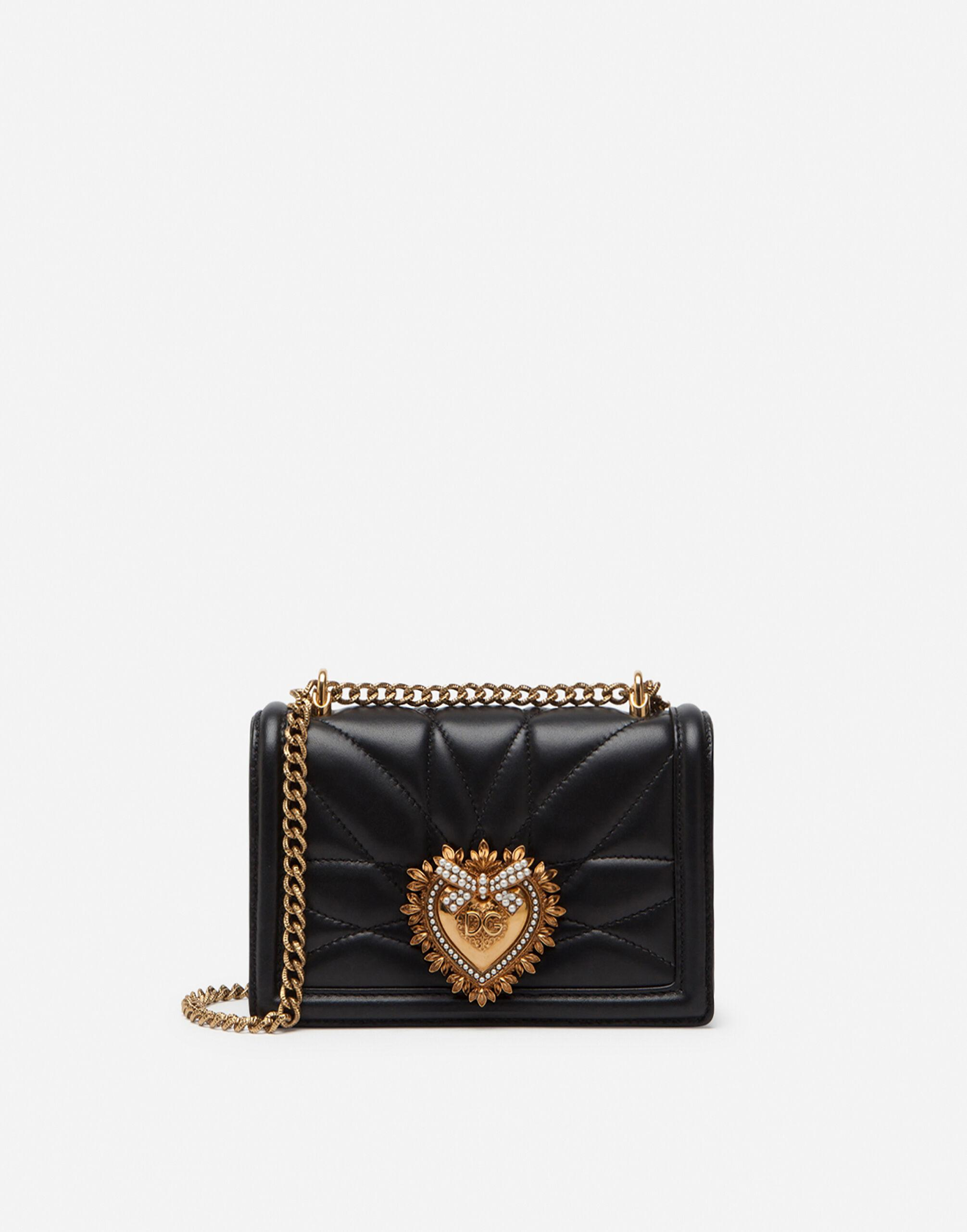 Small Devotion crossbody bag in quilted nappa leather