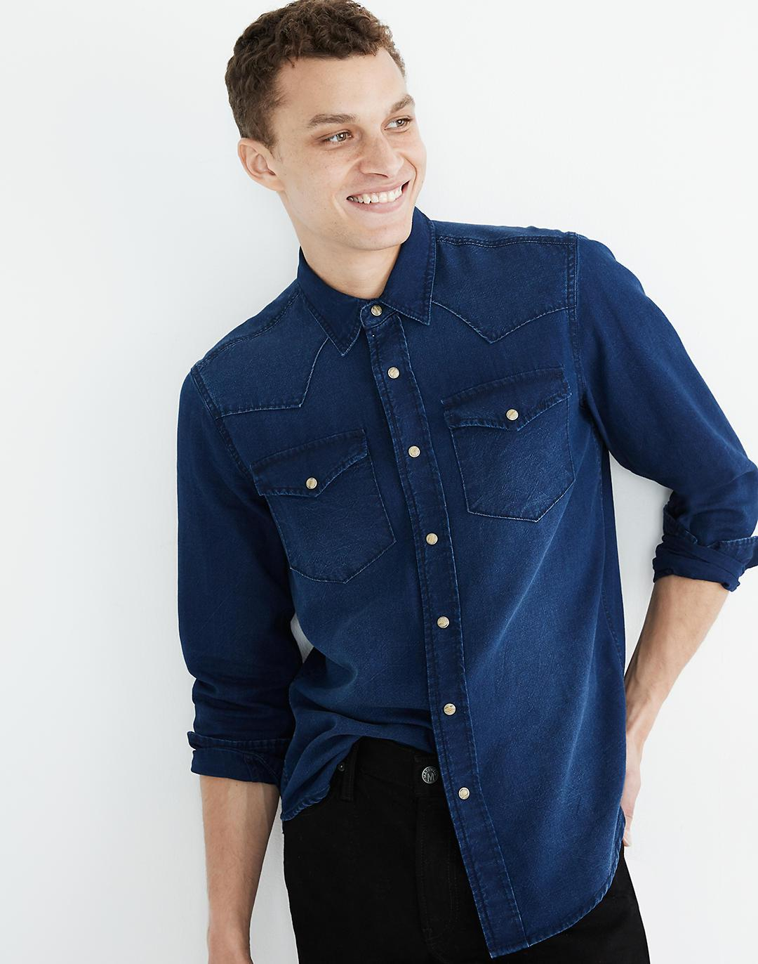 Western Perfect Shirt in Dryden Wash