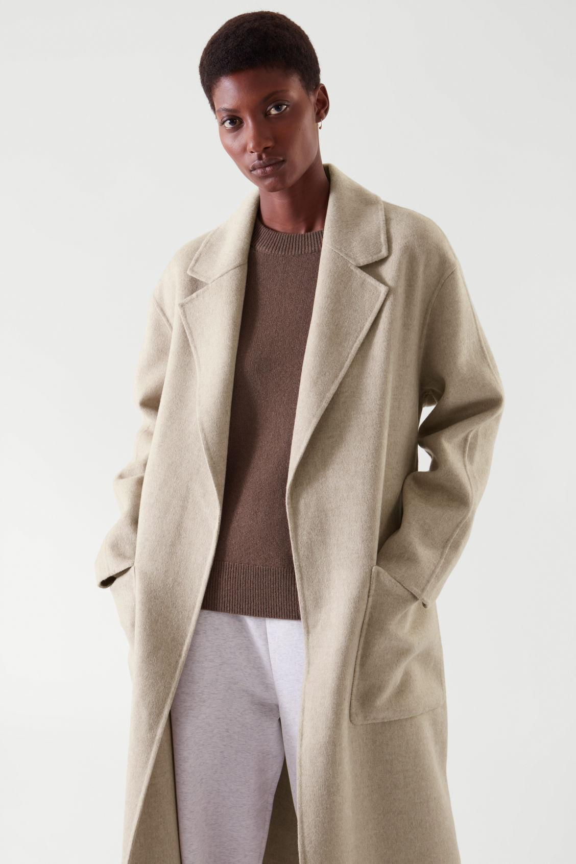 BELTED WRAP COAT 4